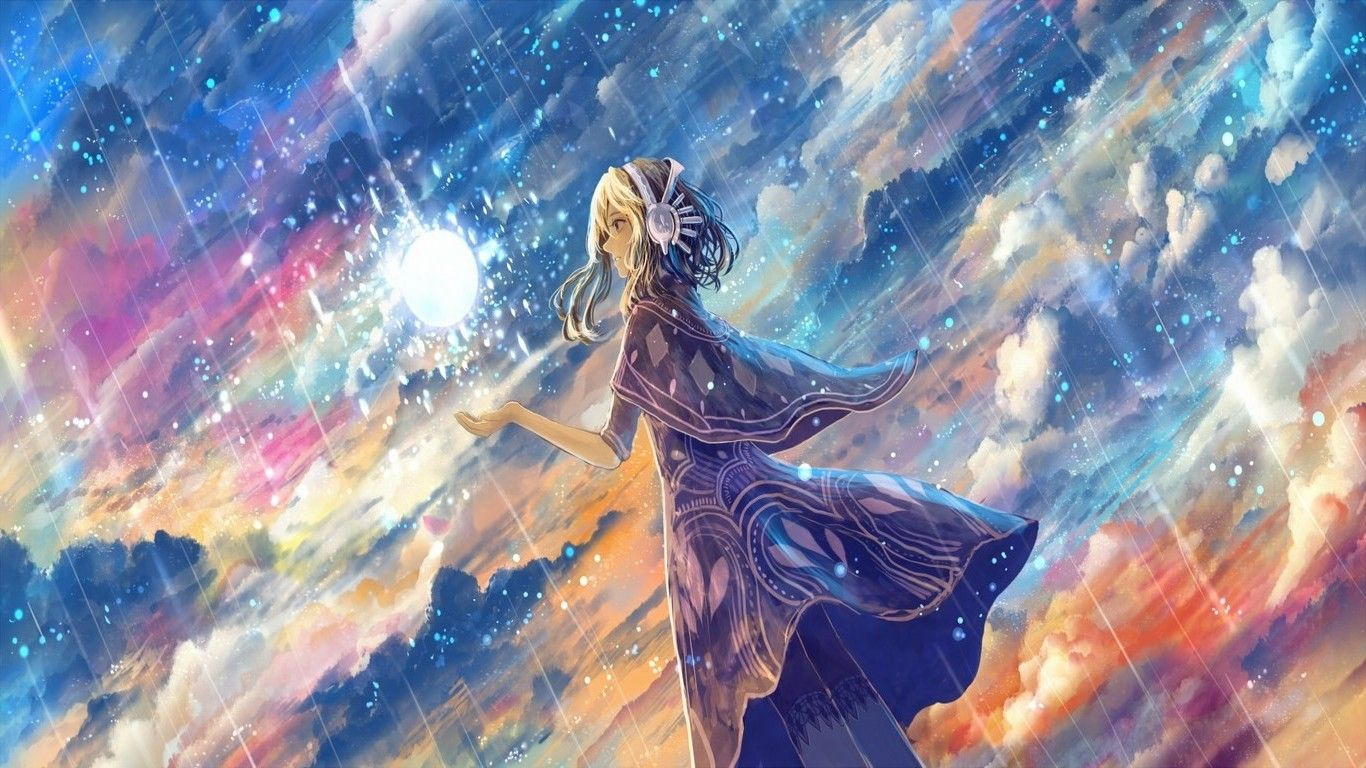 Rain anime wallpapers top free rain anime backgrounds - Anime rain wallpaper ...