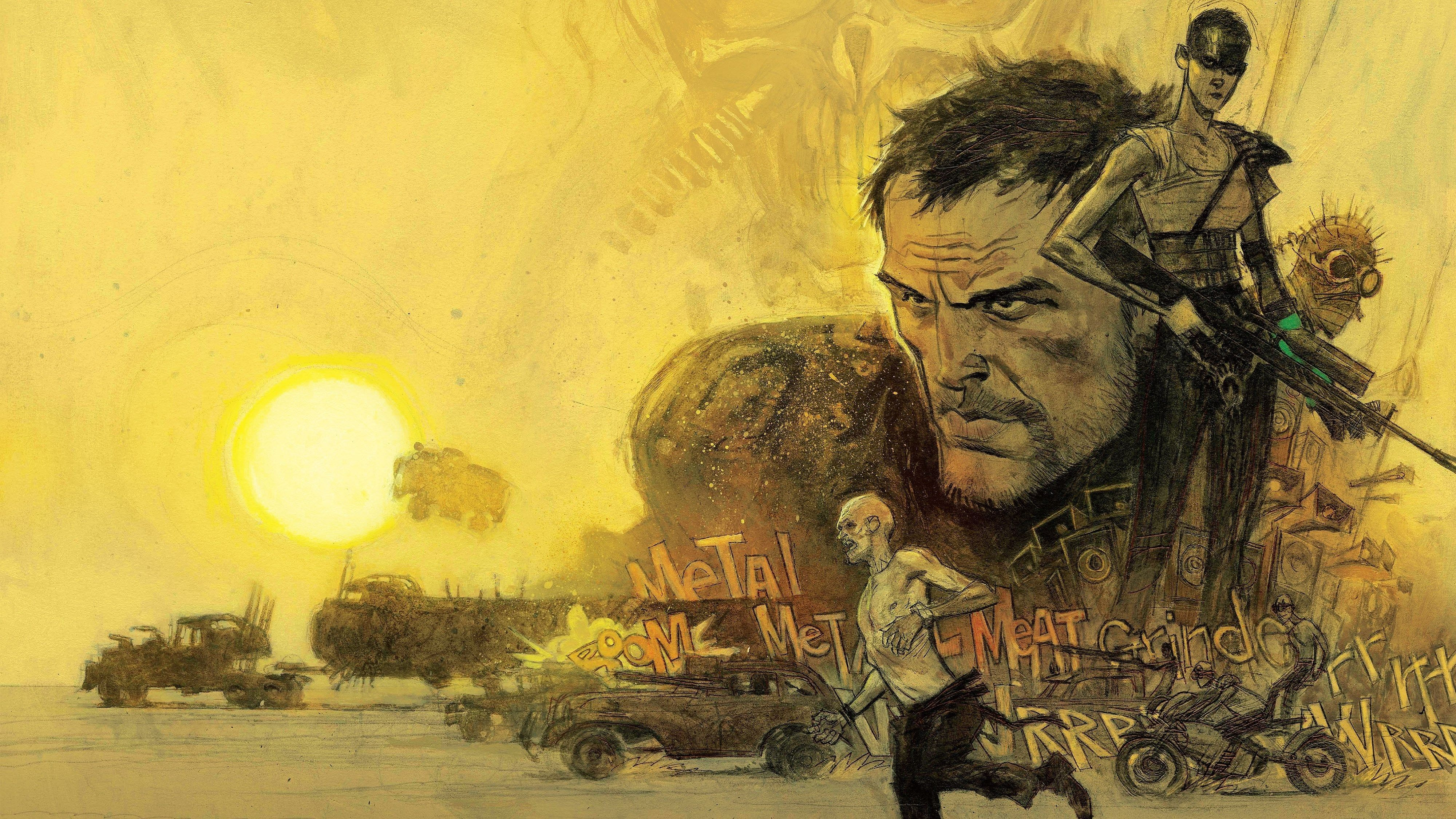 """3840x2160 Mad Max Fury Road 2015 Movie Tom Hardy ❤ 4K HD Desktop Wallpaper ..."""">"""