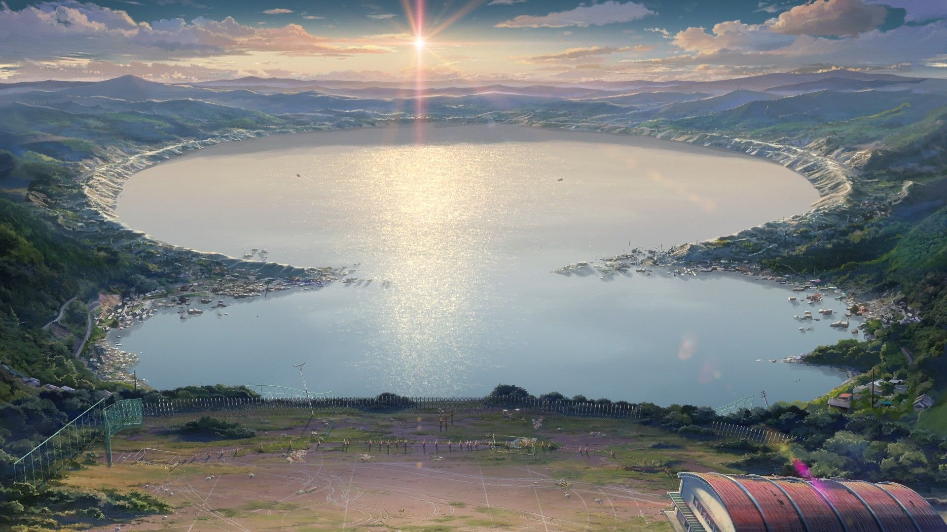 Lake Your Name Anime Wallpapers Top Free Lake Your Name Anime