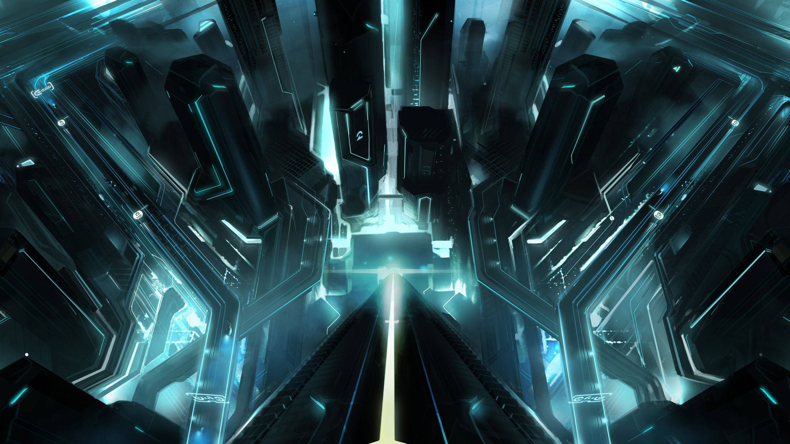 Tron City Wallpapers Top Free Tron City Backgrounds