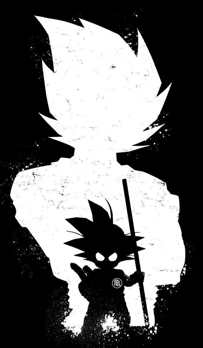 1280x720 goku wallpaper black and white