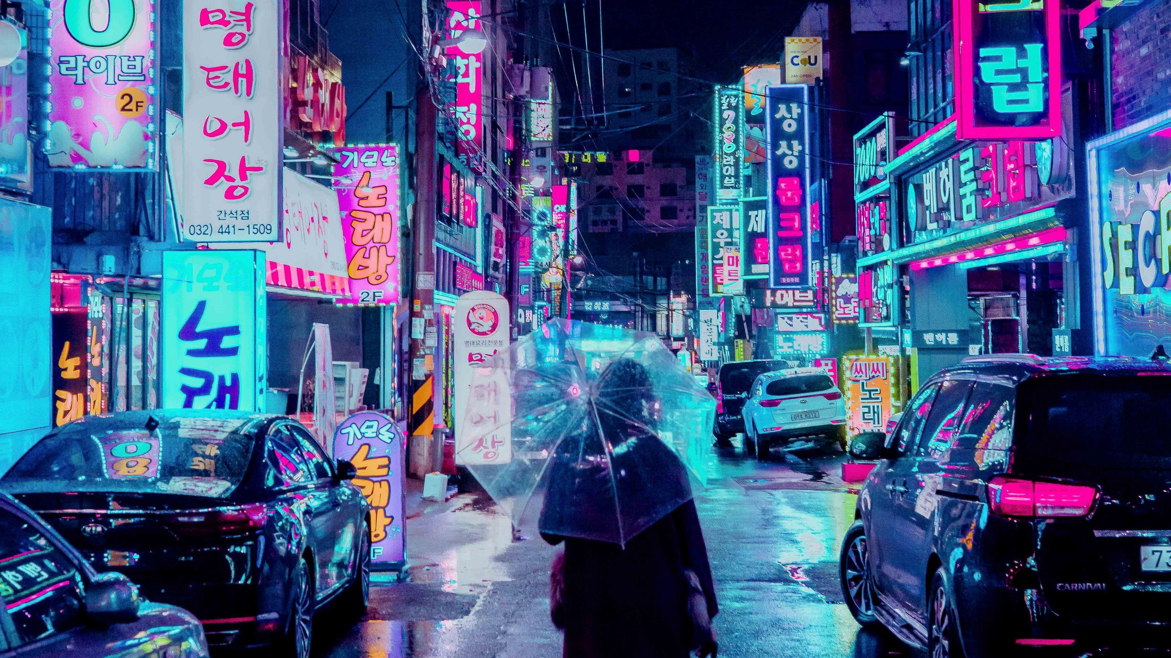 Neon Street Wallpapers Top Free Neon Street Backgrounds