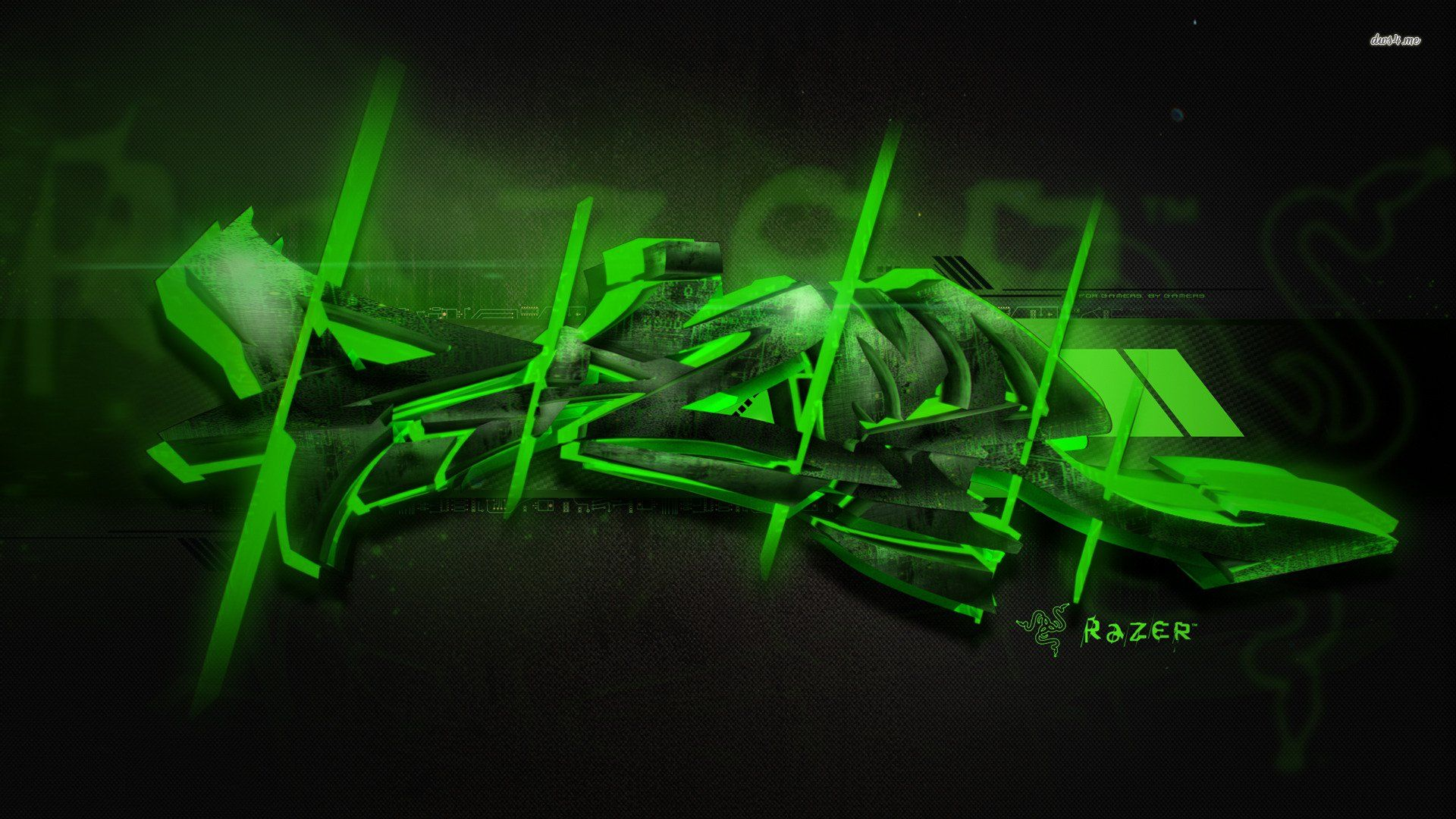 Green Gaming Wallpapers Top Free Green Gaming Backgrounds
