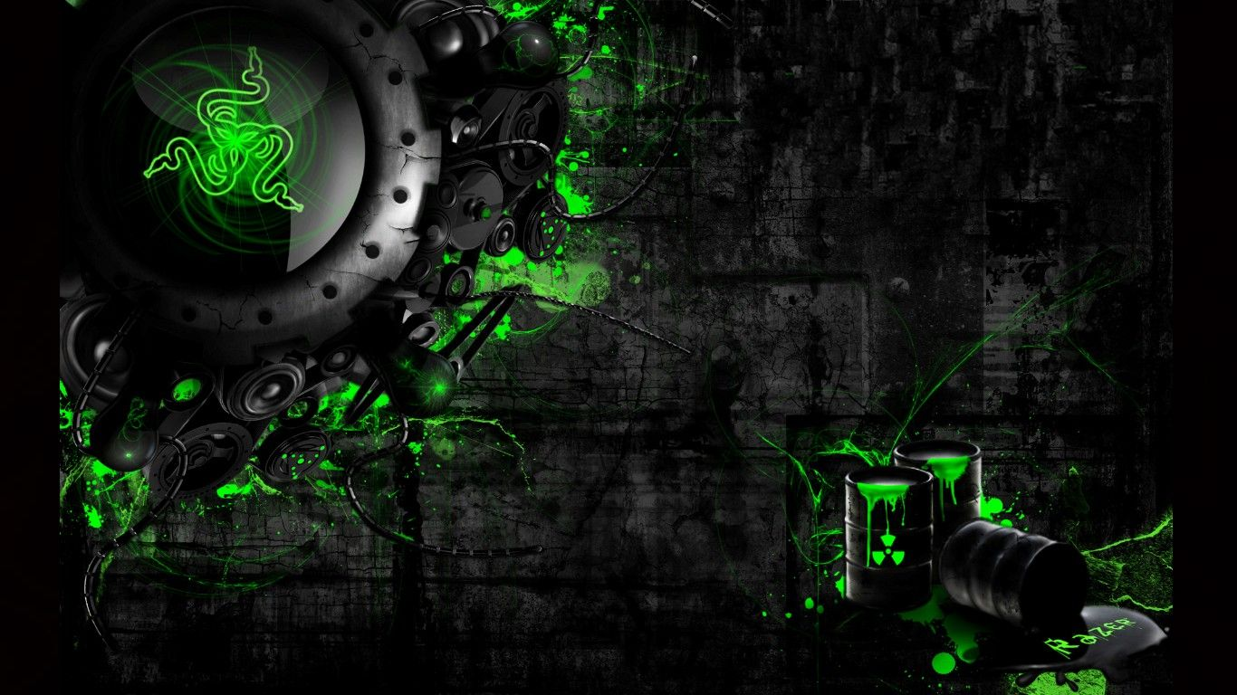 Green Gaming Wallpapers - Top Free Green Gaming Backgrounds