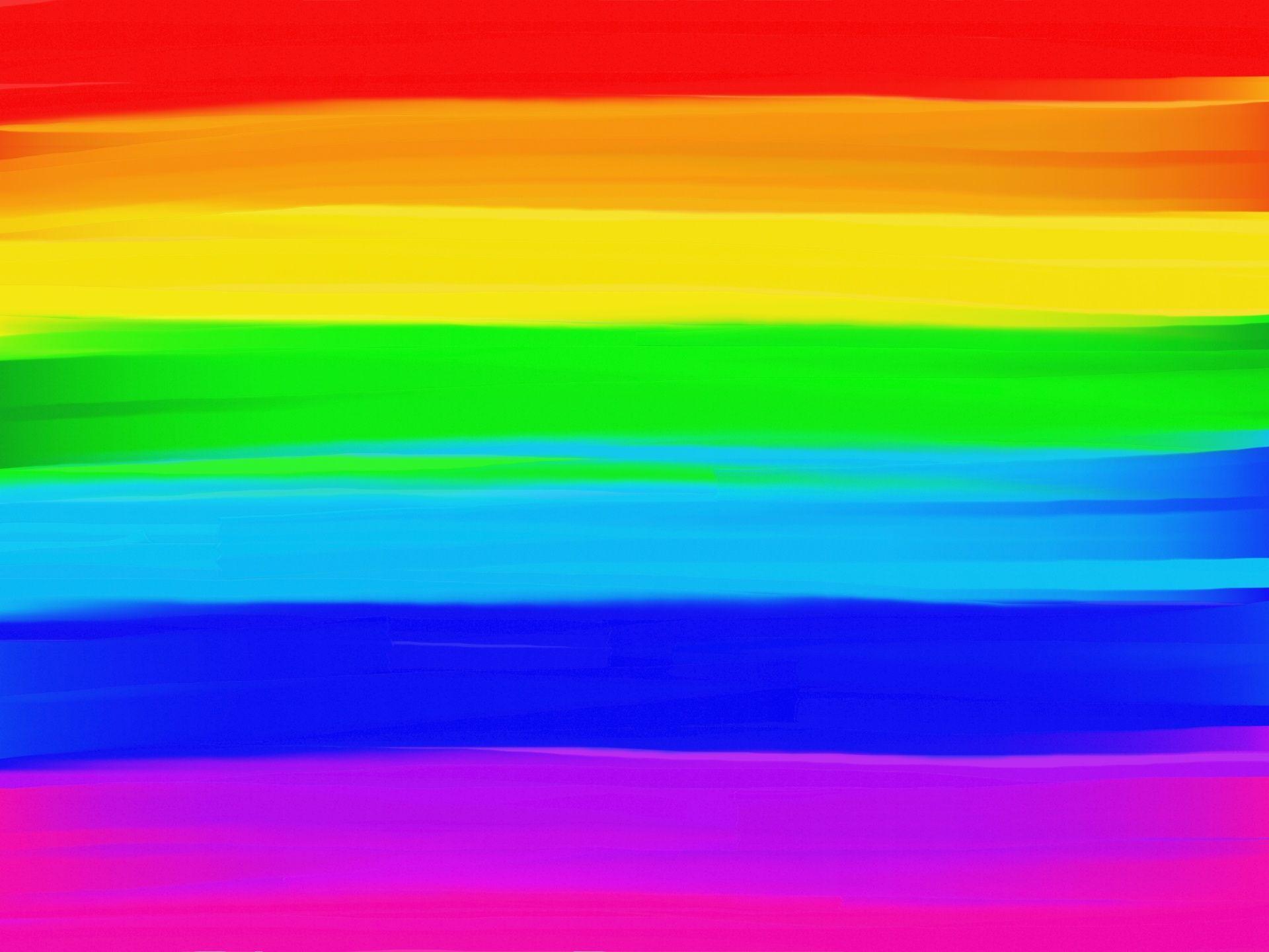Картинка с цветными полосками