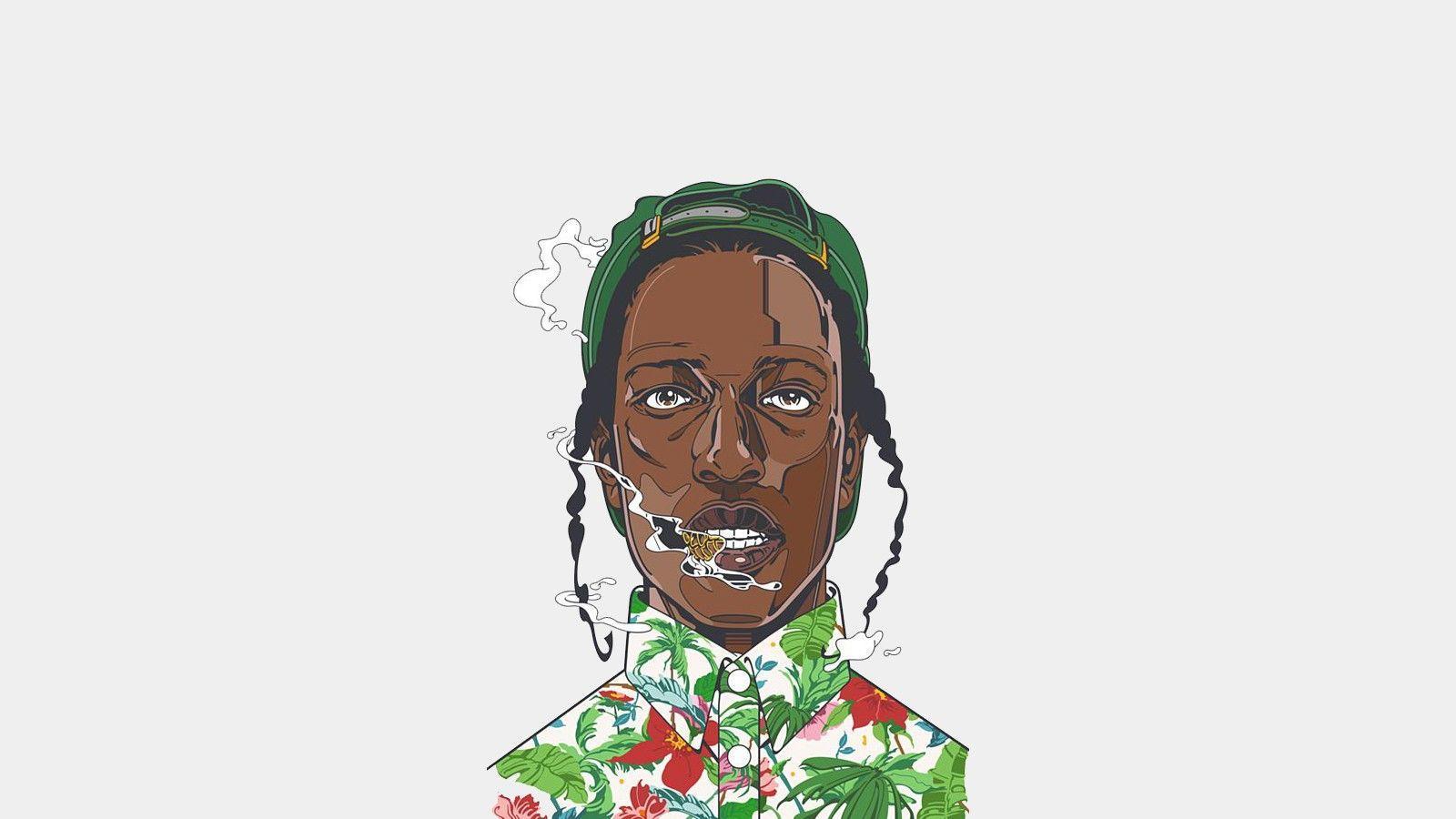 ASAP Rocky Art Wallpapers - Top Free ASAP Rocky Art ...
