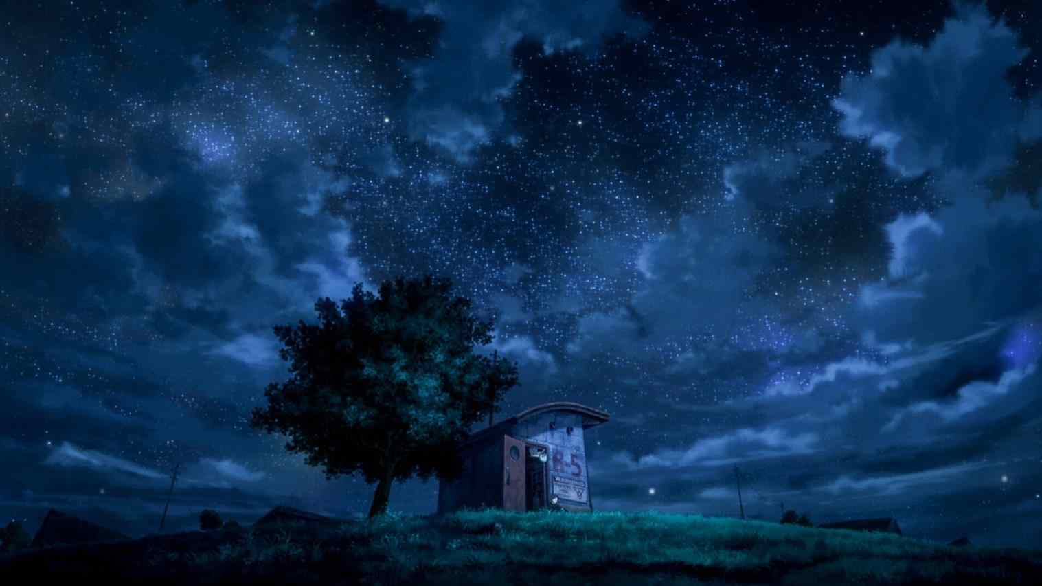 35 Best Free Blue Anime Scenery Wallpapers Wallpaperaccess