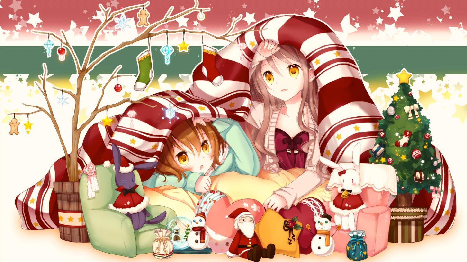 Anime Christmas Wallpapers Top Free Anime Christmas Backgrounds