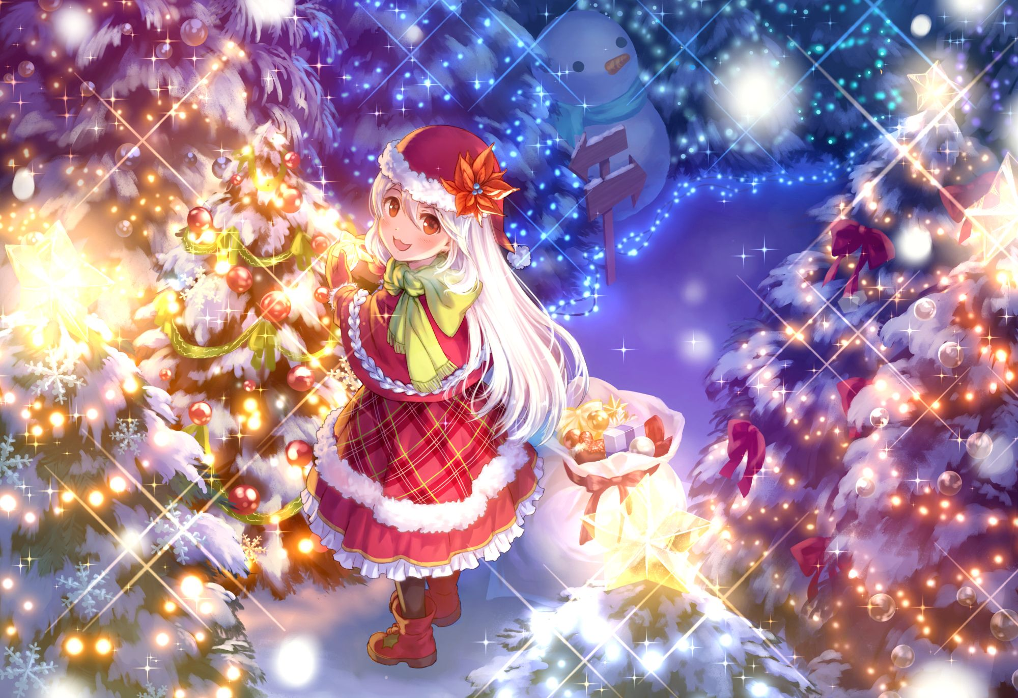 Christmas Anime.Anime Christmas Wallpapers Top Free Anime Christmas