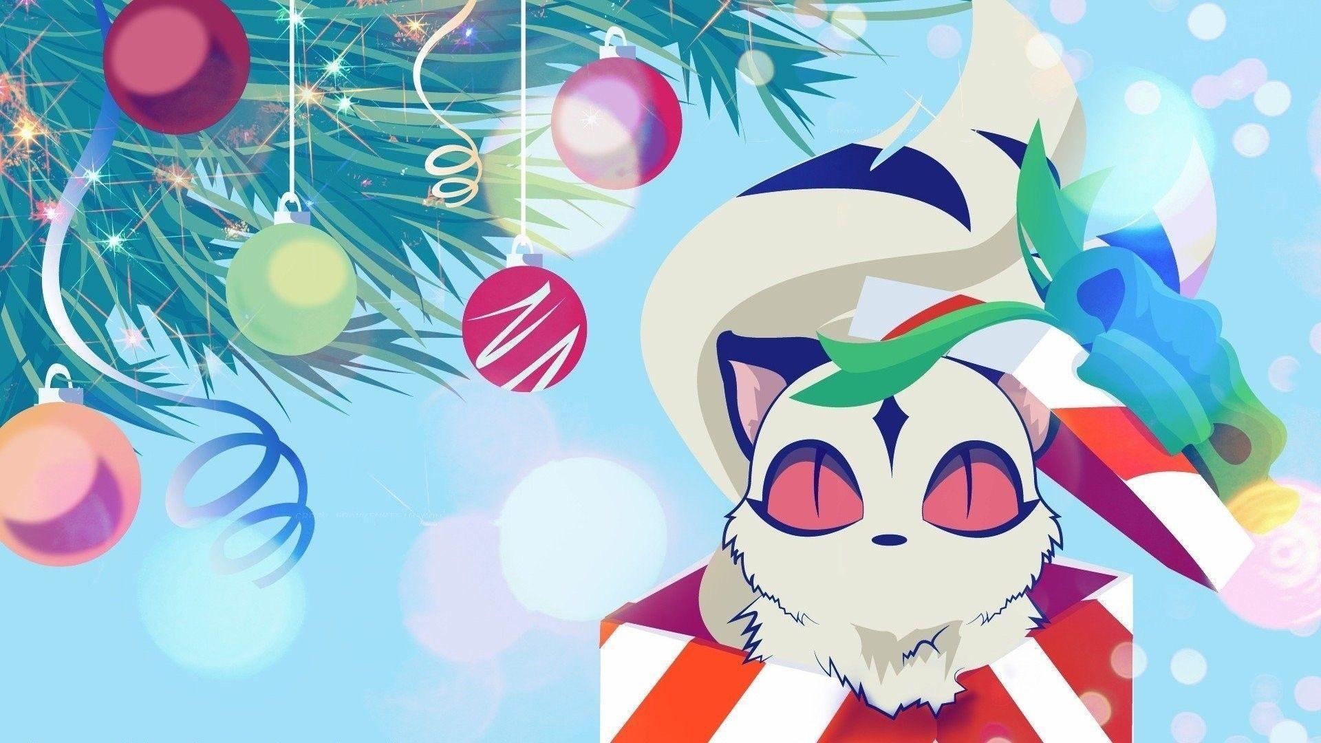 Christmas Anime Aesthetic Wallpapers - Top Free Christmas ...