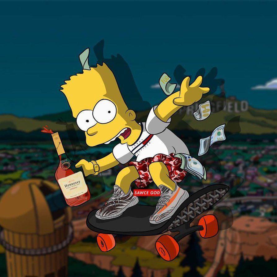 14 Best Free BAPE Bart Wallpapers