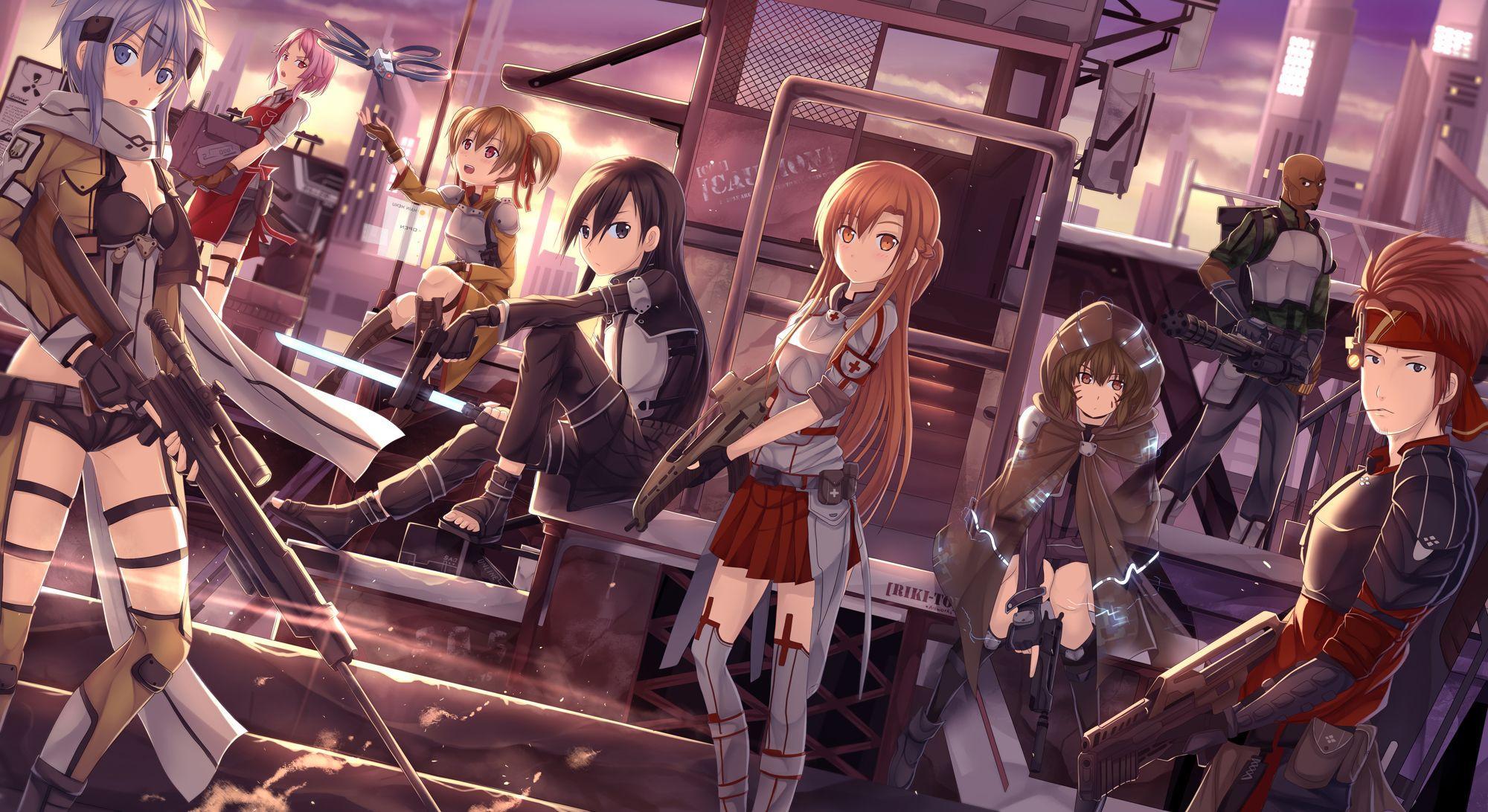 Sword Art Online 2 Wallpapers Top Free Sword Art Online 2 Backgrounds Wallpaperaccess