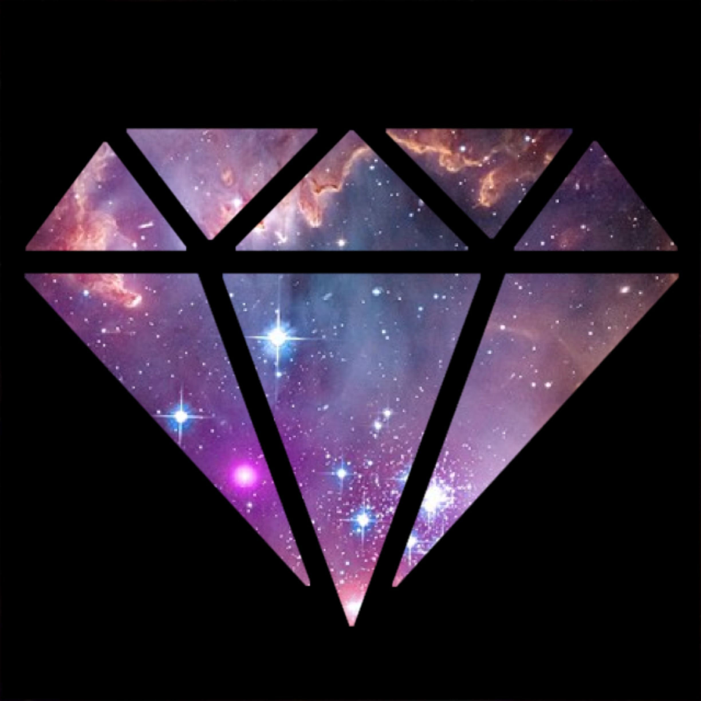 Diamond galaxy. Supply co wallpapers top