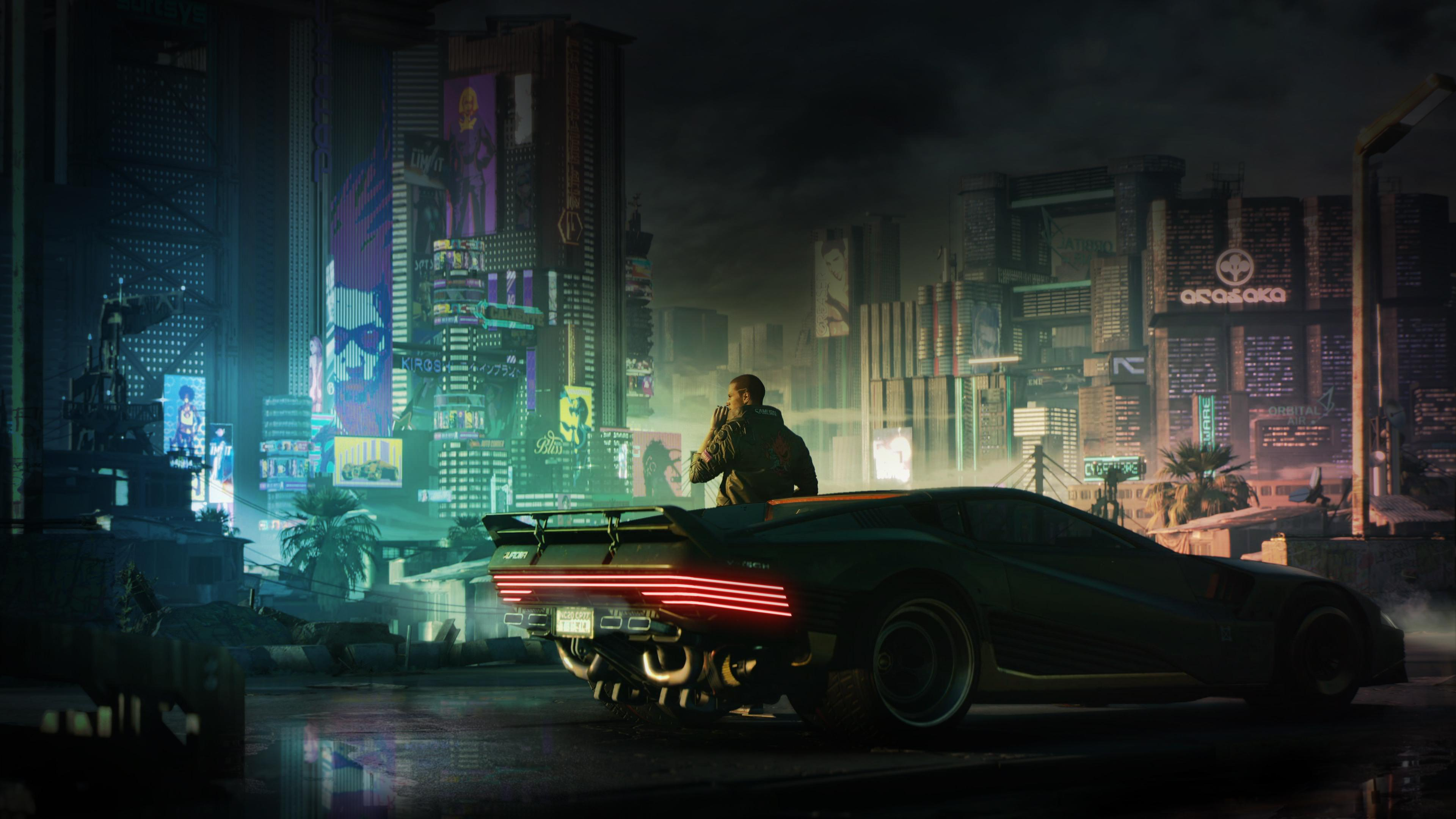 Cyberpunk 2077 4k Wallpapers Top Free Cyberpunk 2077 4k Backgrounds Wallpaperaccess