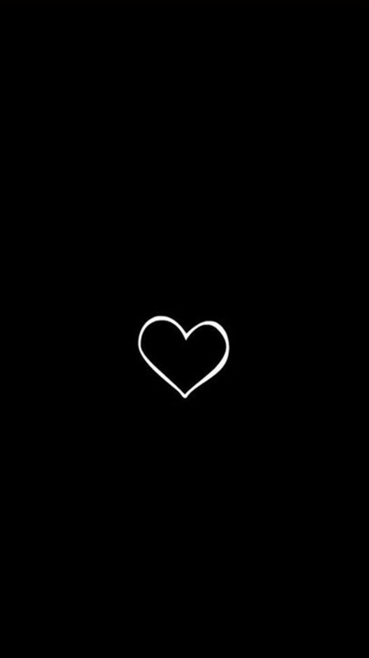 Heart Black And White Wallpapers Top Free Heart Black And White