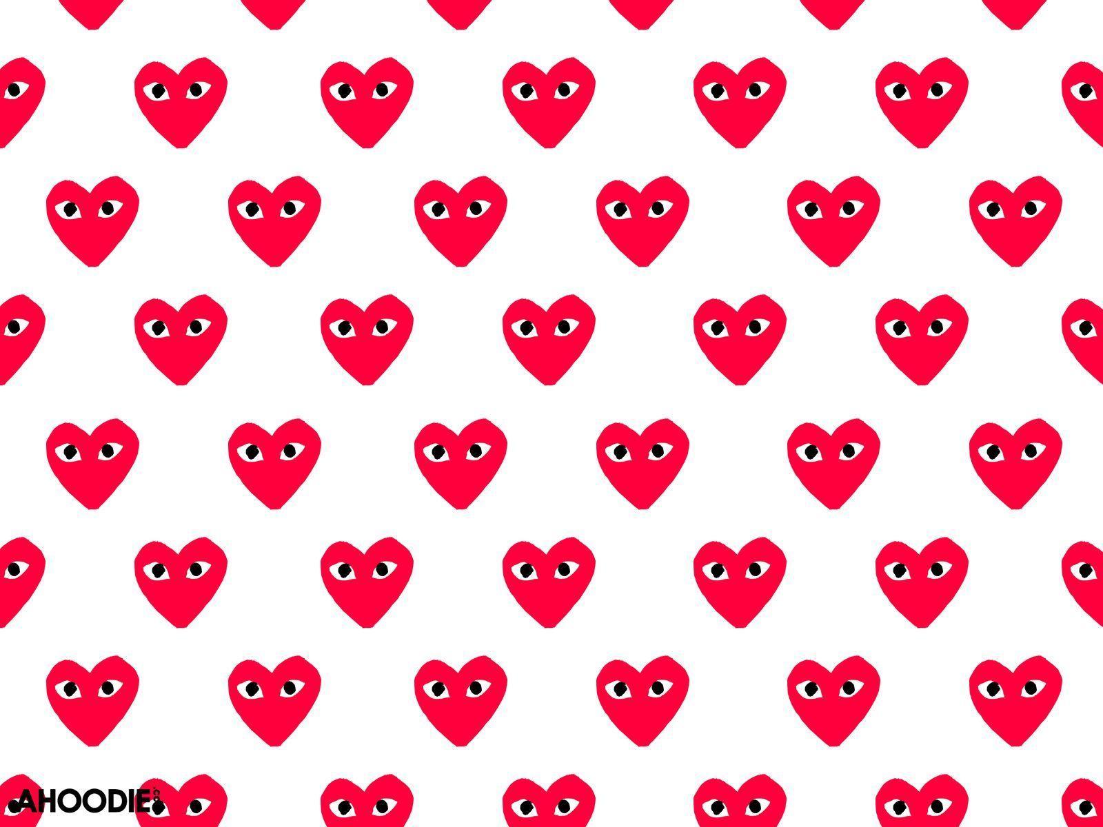 Comme Des Garcons Heart Wallpapers Top Free Comme Des