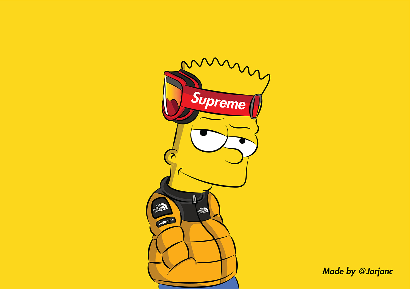 High Bart Simpson Supreme Wallpapers Top Free High Bart