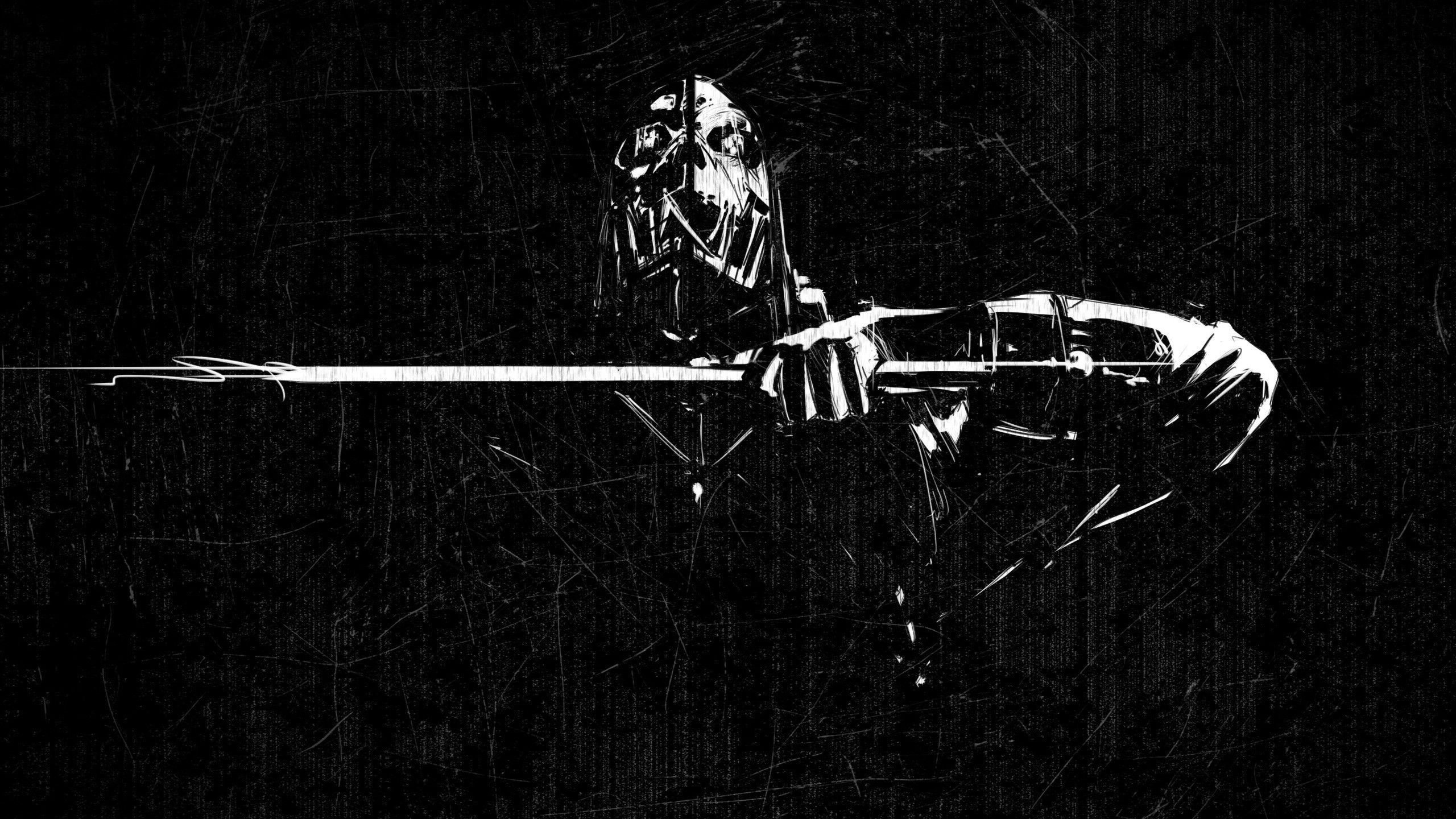 Black And White Gaming Wallpapers Top Free Black And White