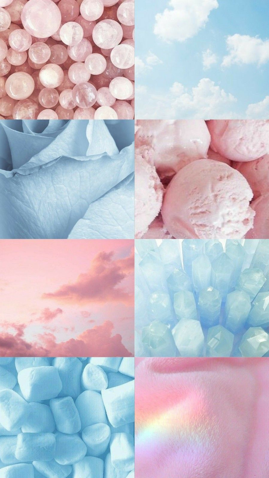 Aesthetic Blue Pink Wallpapers - Top Free Aesthetic Blue ...