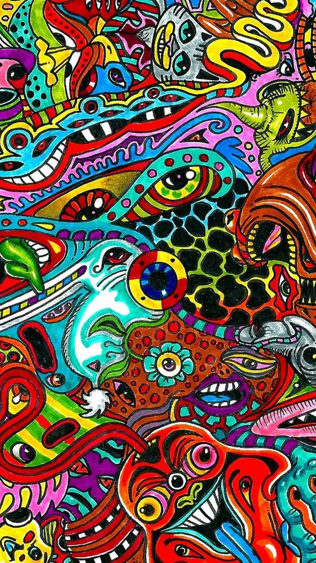 Trippy Art Iphone Wallpapers Top Free Trippy Art Iphone