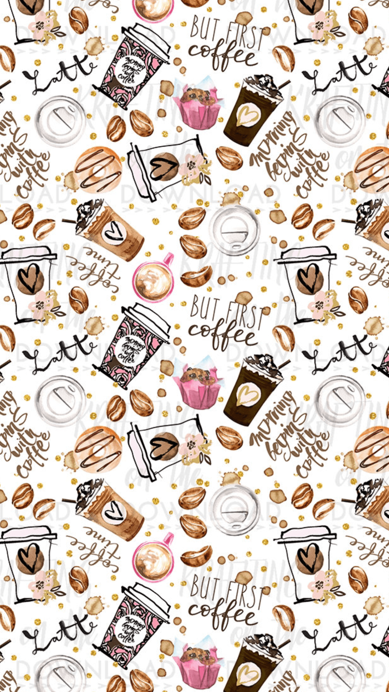 Cute Coffee Wallpapers Top Free Cute Coffee Backgrounds