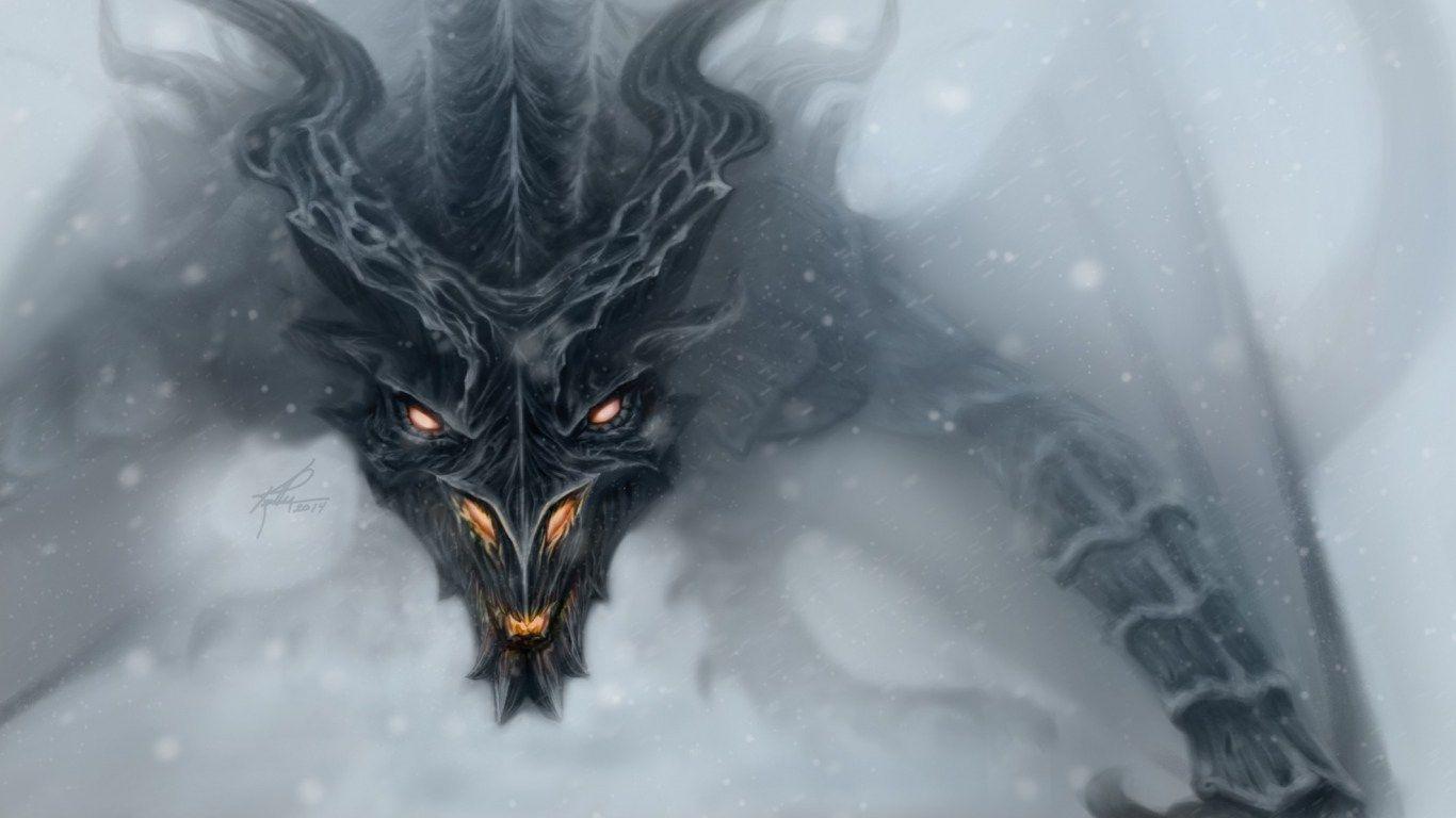 Skyrim Dragons 4k Wallpapers Top Free Skyrim Dragons 4k