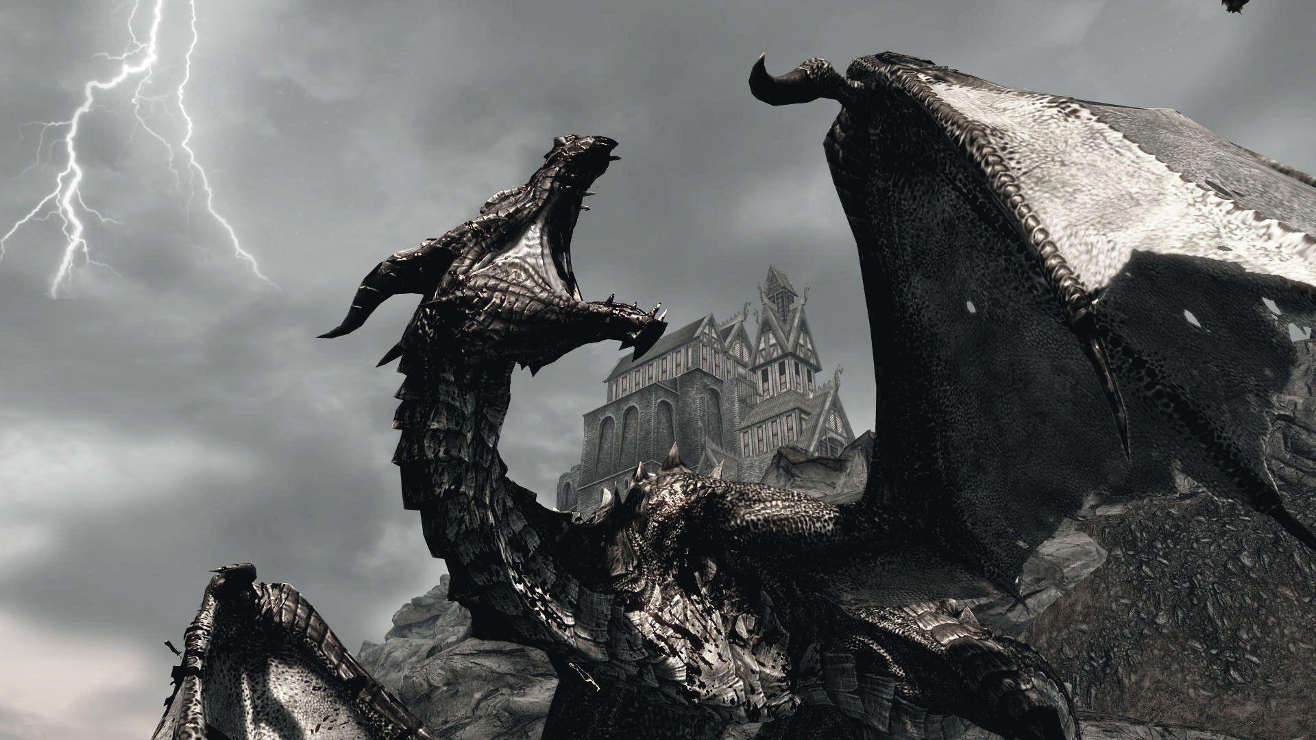 58 Best Free Skyrim Dragons 4k Wallpapers Wallpaperaccess