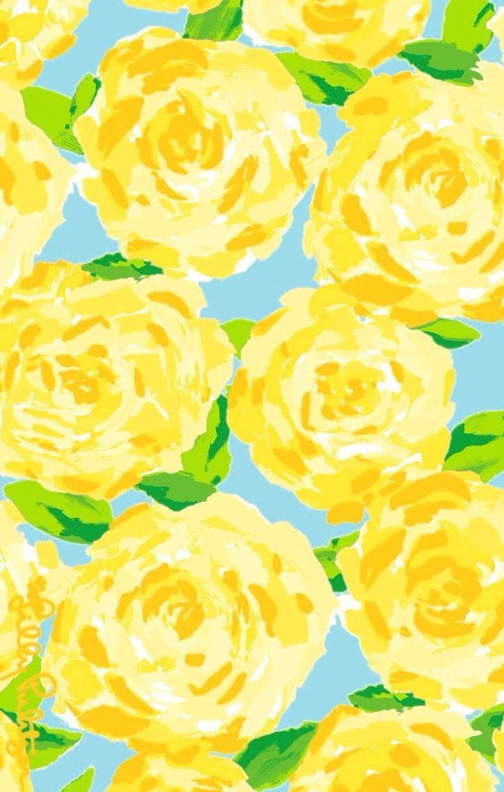 Yellow Floral Iphone Wallpapers Top Free Yellow Floral Iphone