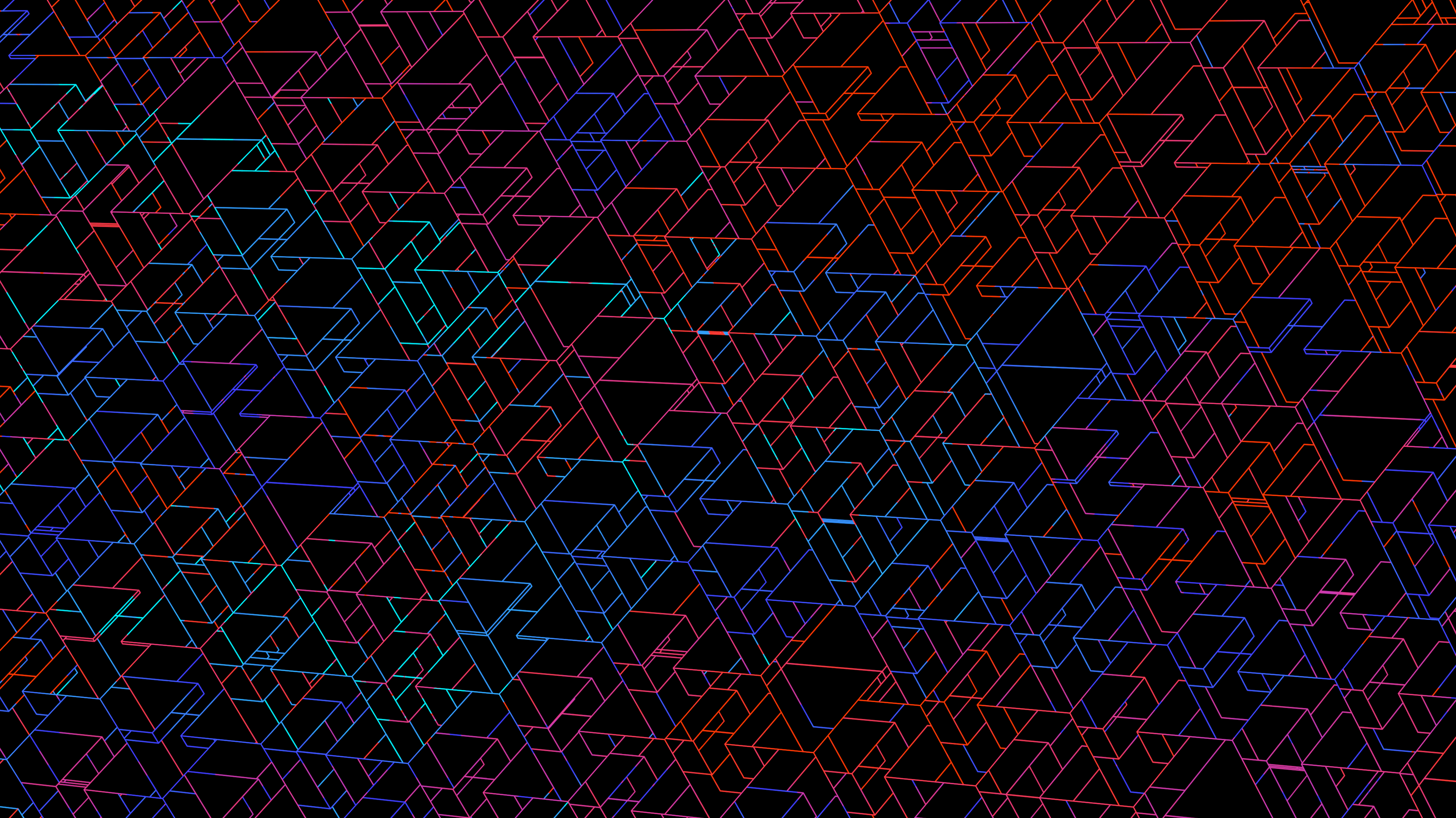 Triangle Rainbow Space Wallpapers Top Free Triangle