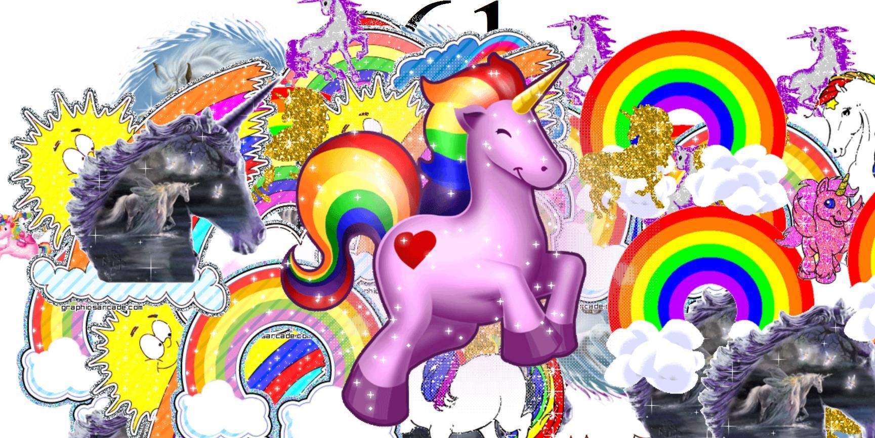 Unicorn Rainbow Wallpapers - Top Free Unicorn Rainbow ...