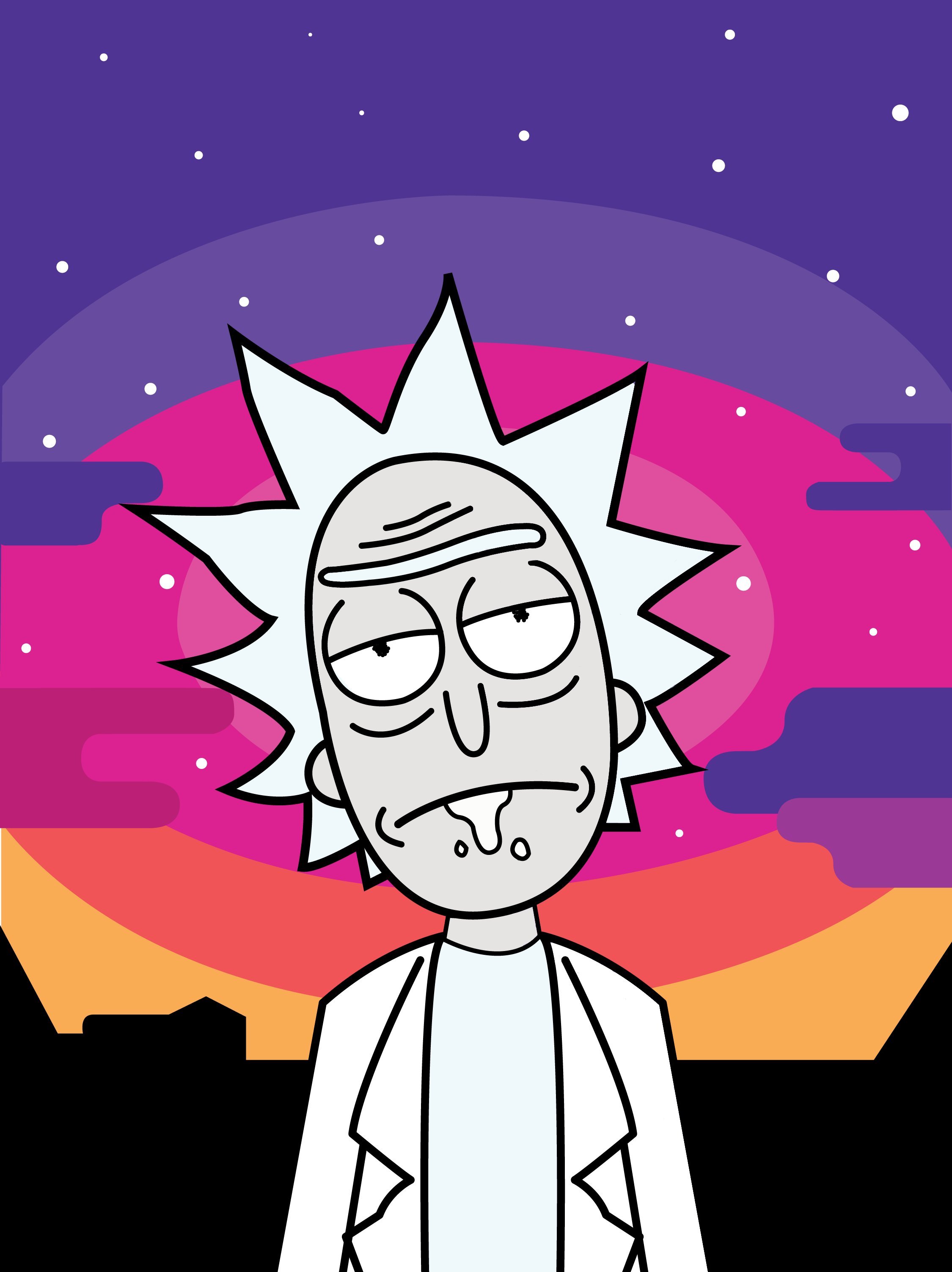 Sad Rick And Morty Wallpapers Top Free Sad Rick And Morty