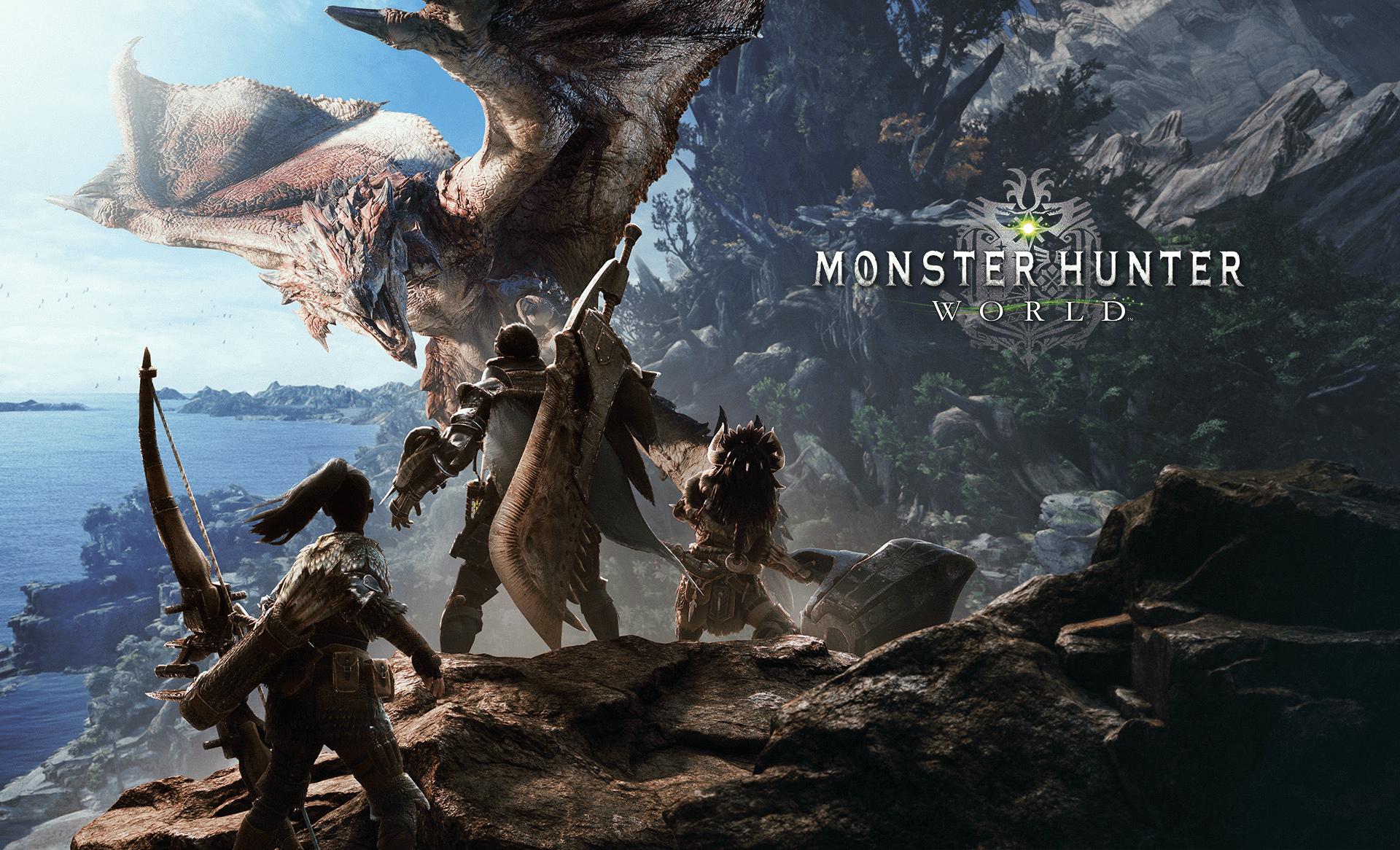 monster hunter world wallpapers 1920x1080
