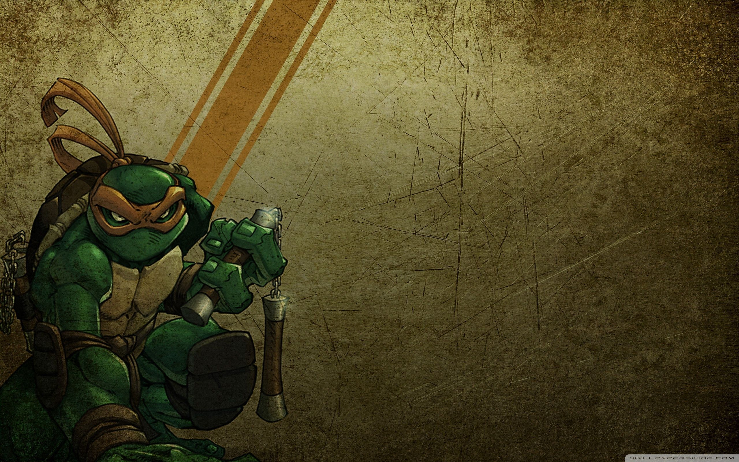 Teenage Mutant Ninja Turtles Michelangelo Wallpapers Top Free