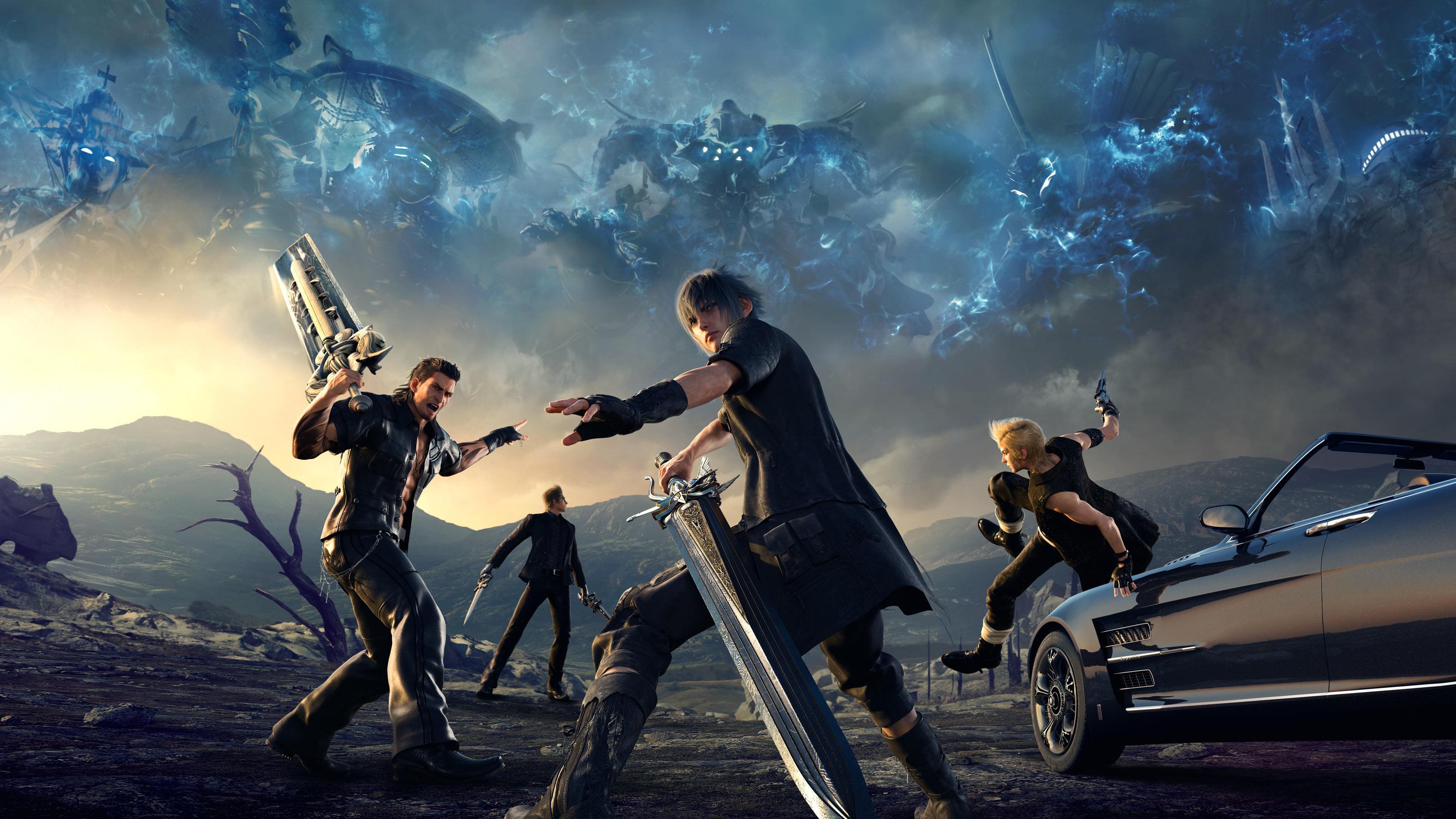 Final Fantasy Xv Wallpapers Top Free Final Fantasy Xv Backgrounds Wallpaperaccess