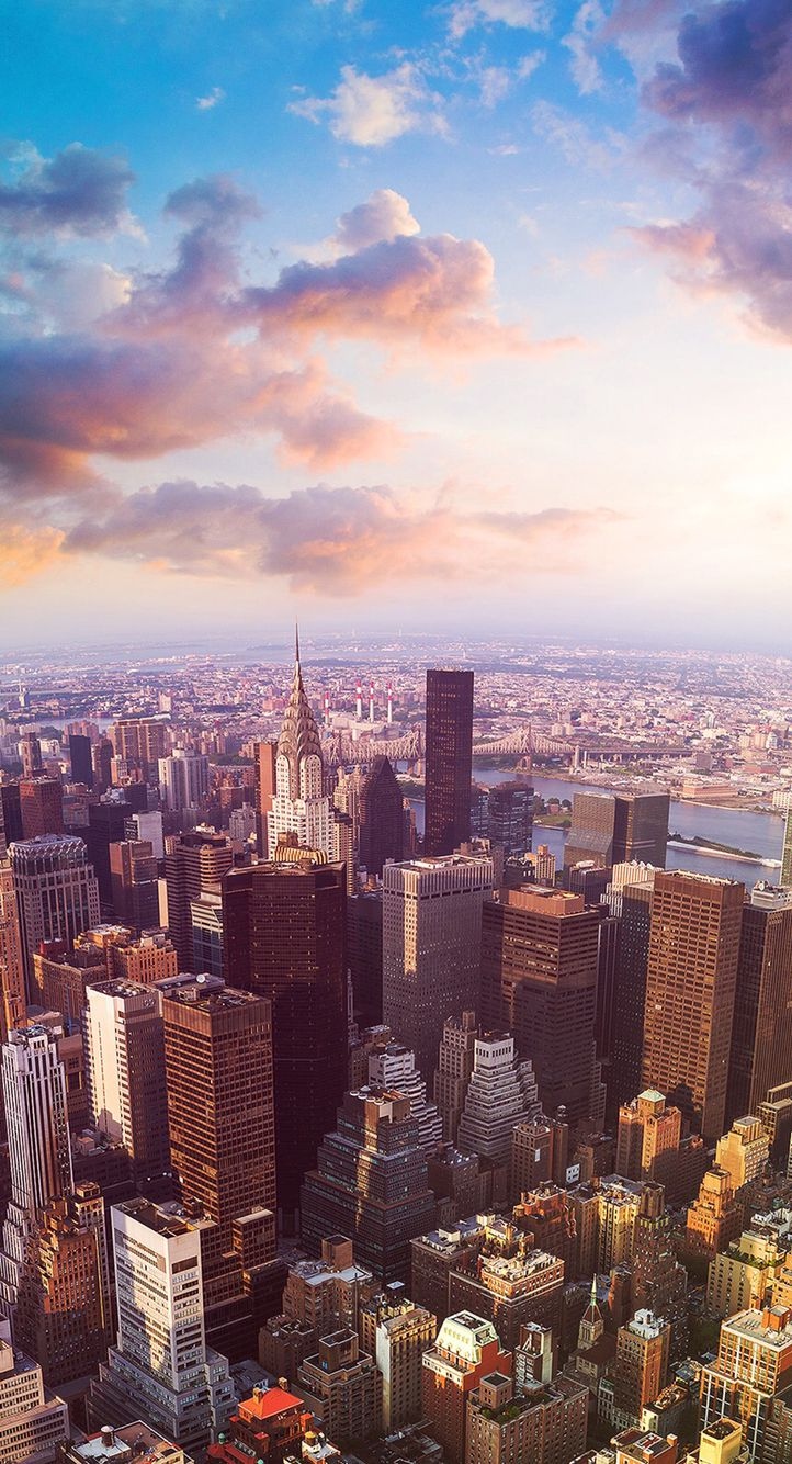 New york skyline iphone wallpapers top free new york - New york skyline computer wallpaper ...