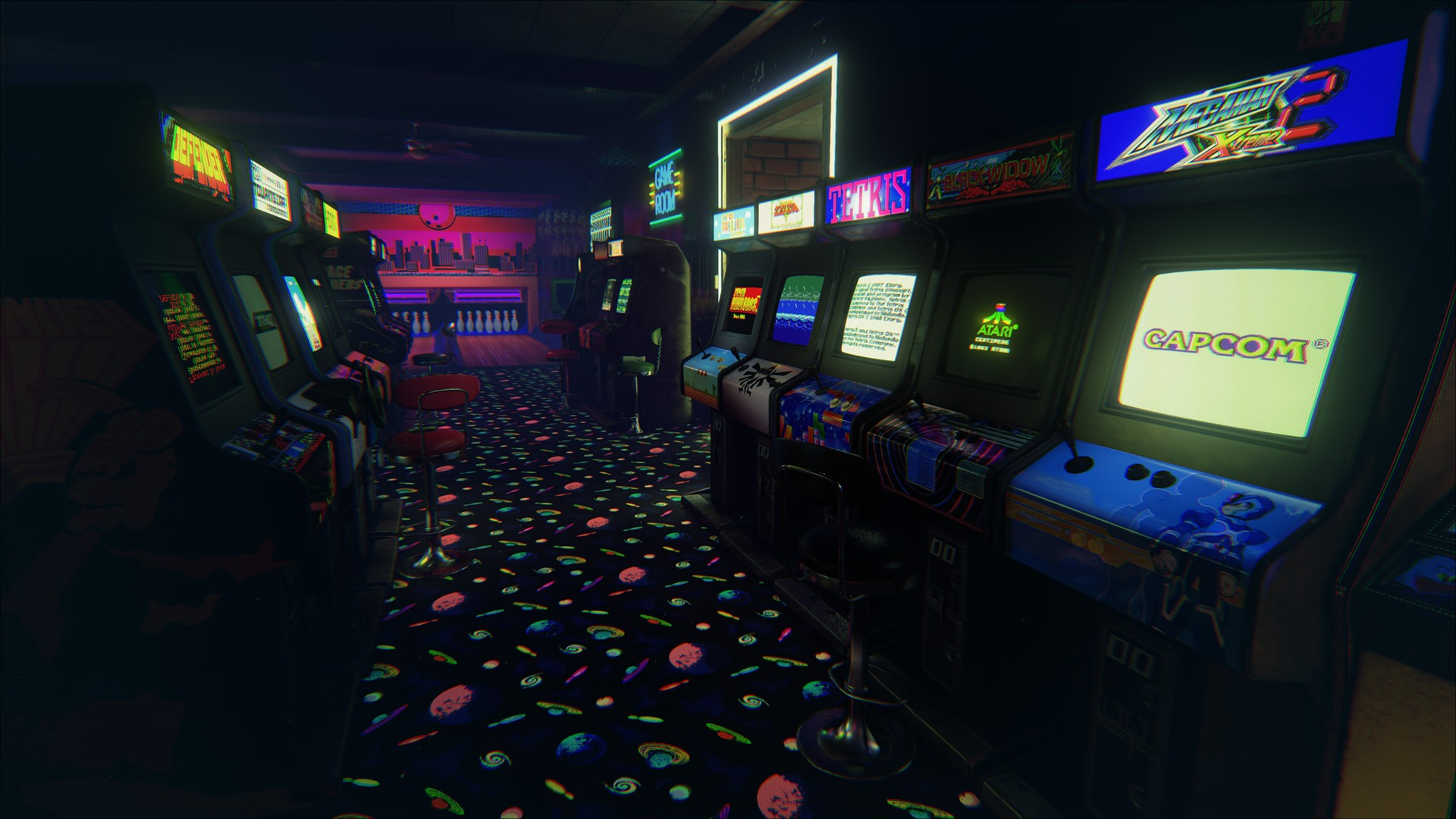 Arcade Wallpapers Top Free Arcade Backgrounds