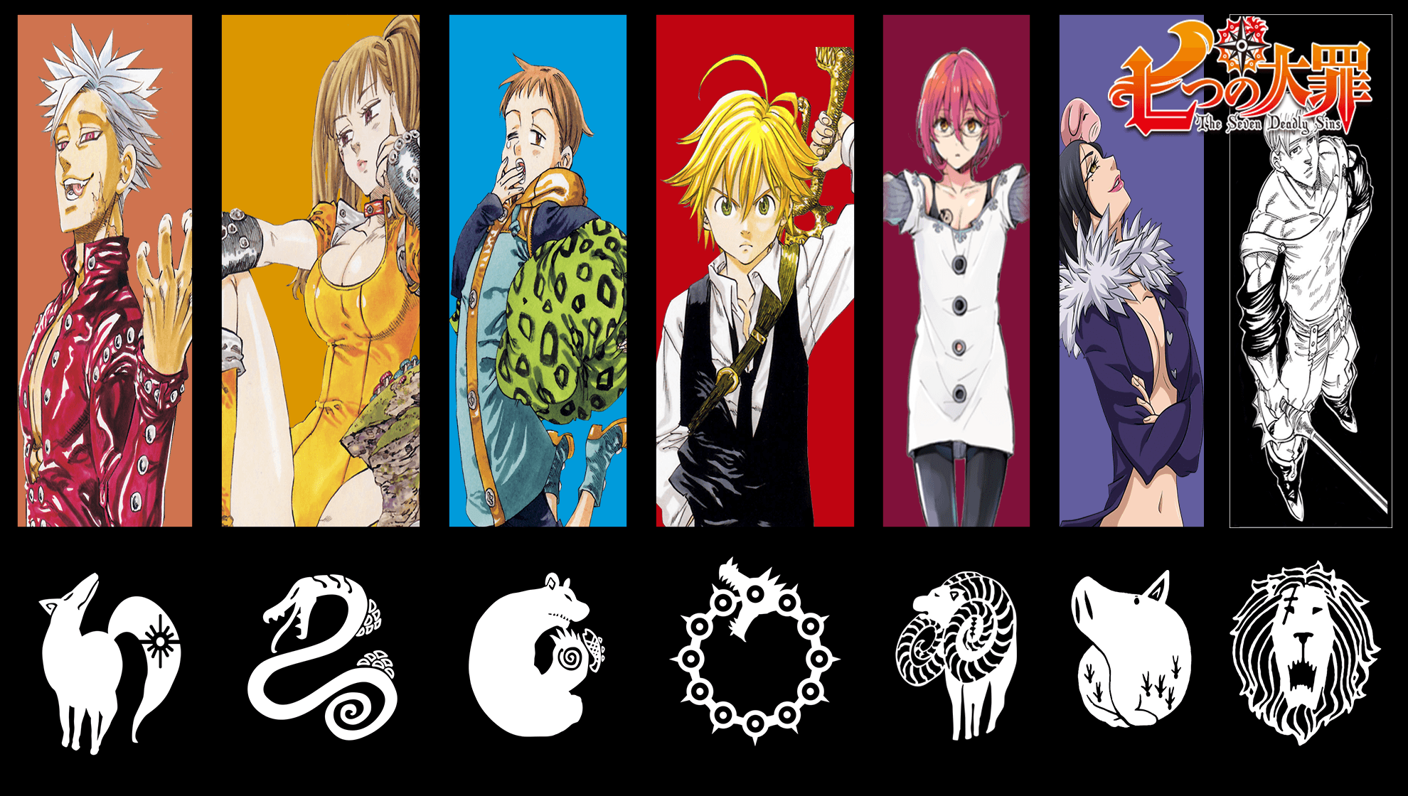 Seven Deadly Sins Wallpapers Top Free Seven Deadly Sins