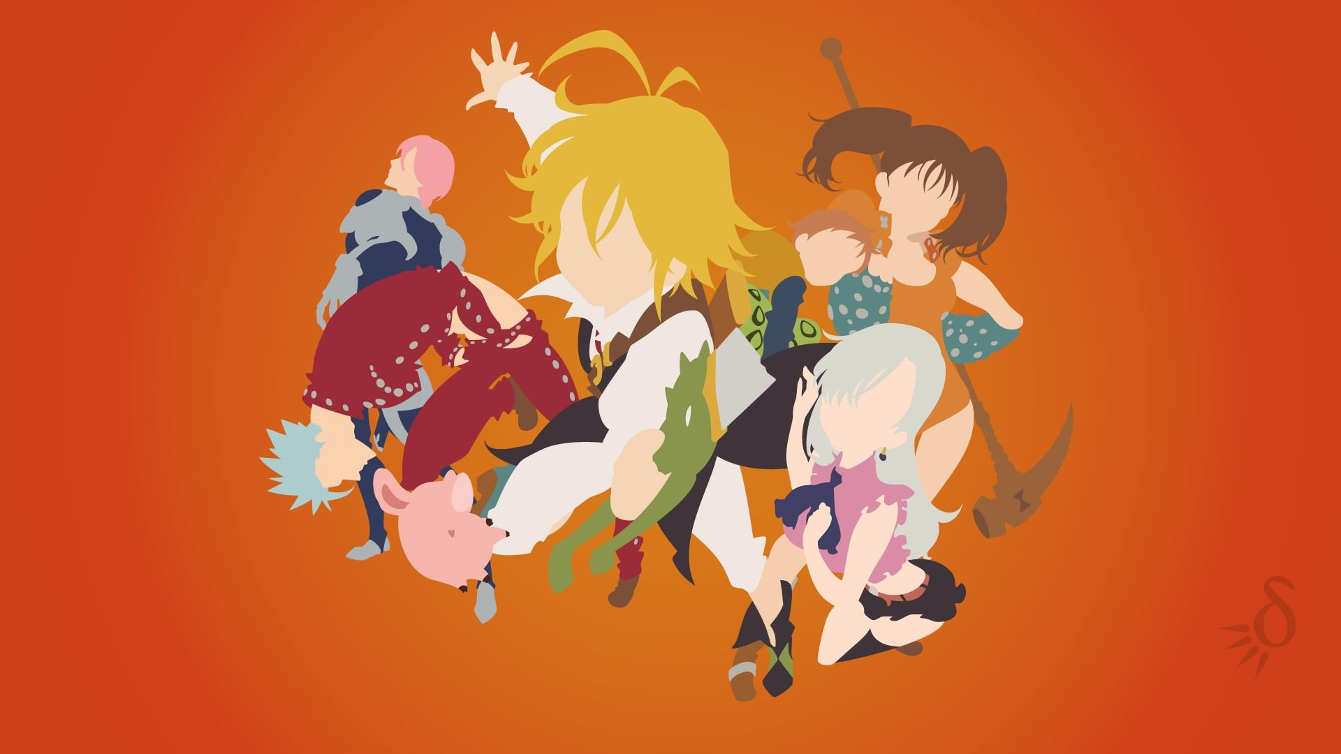 The Seven Deadly Sins Wallpapers Top Free The Seven Deadly Sins