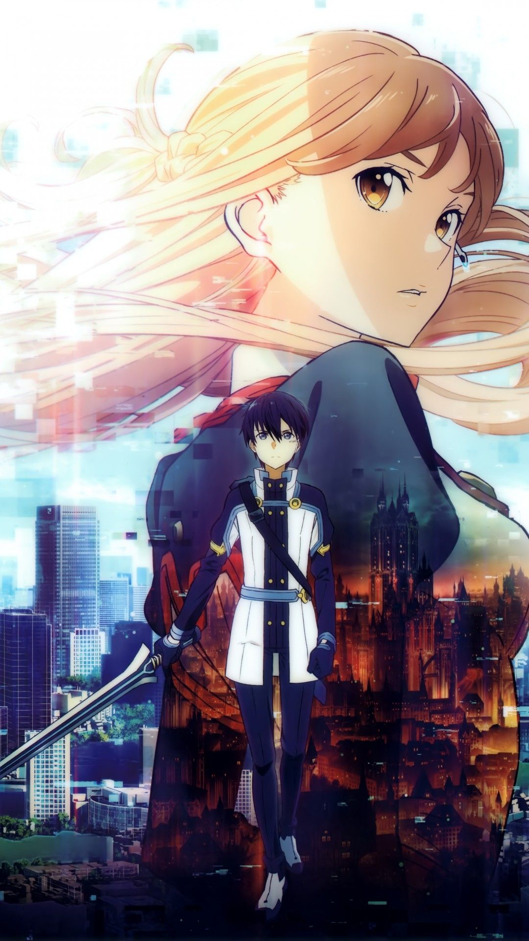 Sword Art Online Iphone Wallpapers Top Free Sword Art Online Iphone Backgrounds Wallpaperaccess