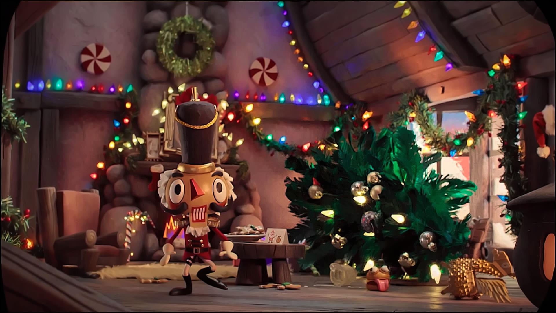 Christmas Fortnite Battle Royale Wallpapers Top Free Christmas Fortnite Battle Royale Backgrounds Wallpaperaccess