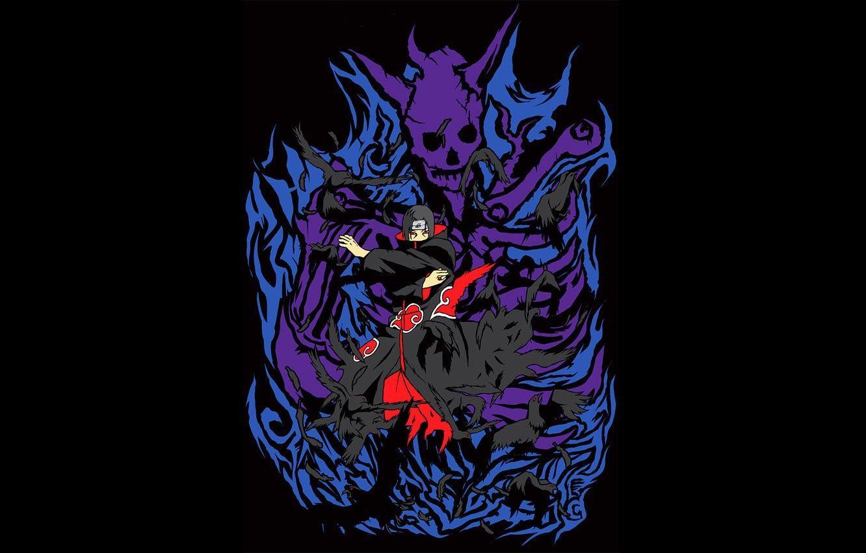 Uchiha Itachi Crow Wallpapers Top Free Uchiha Itachi Crow Backgrounds Wallpaperaccess
