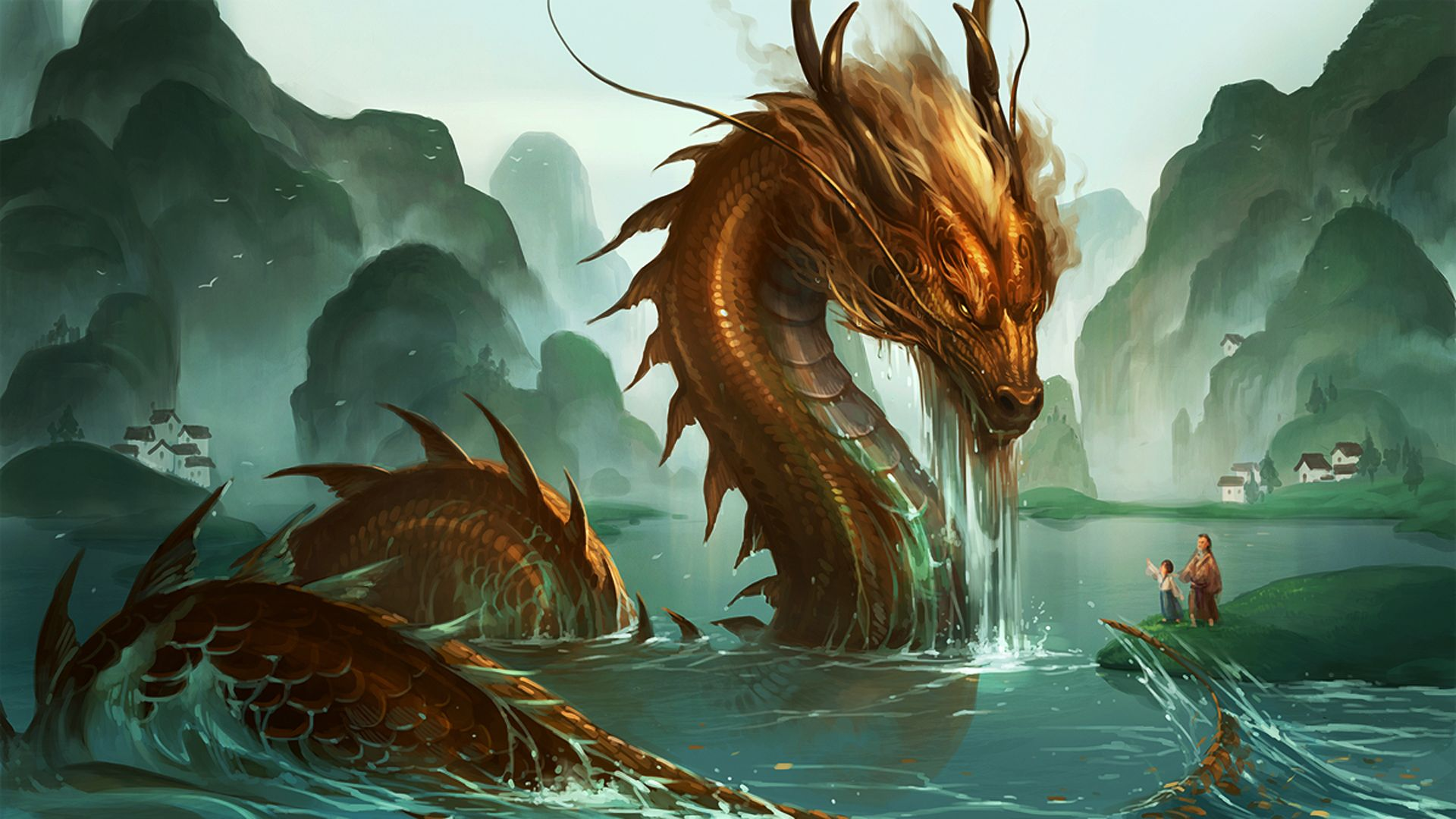 Eastern Dragon Wallpapers Top Free Eastern Dragon Backgrounds