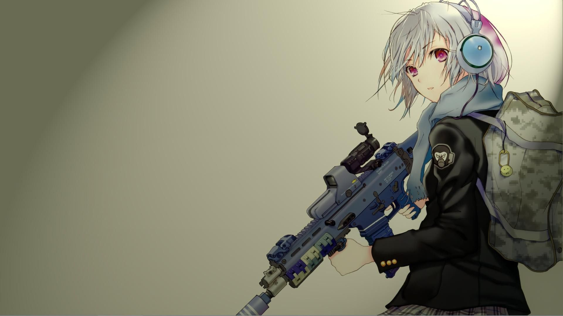 Anime Pistol Pointed Wallpapers Top Free Anime Pistol Pointed