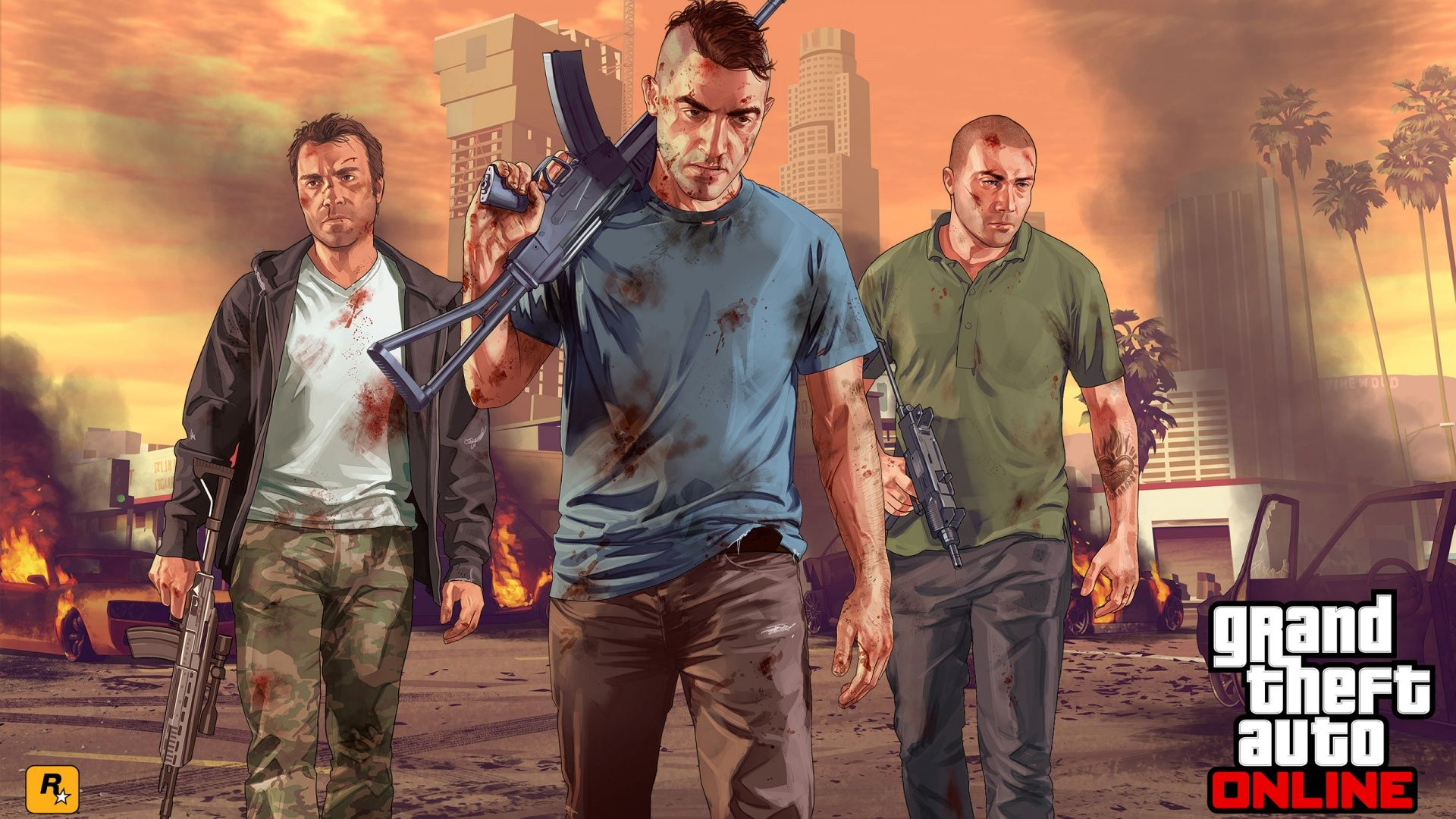 images of grand theft auto characters