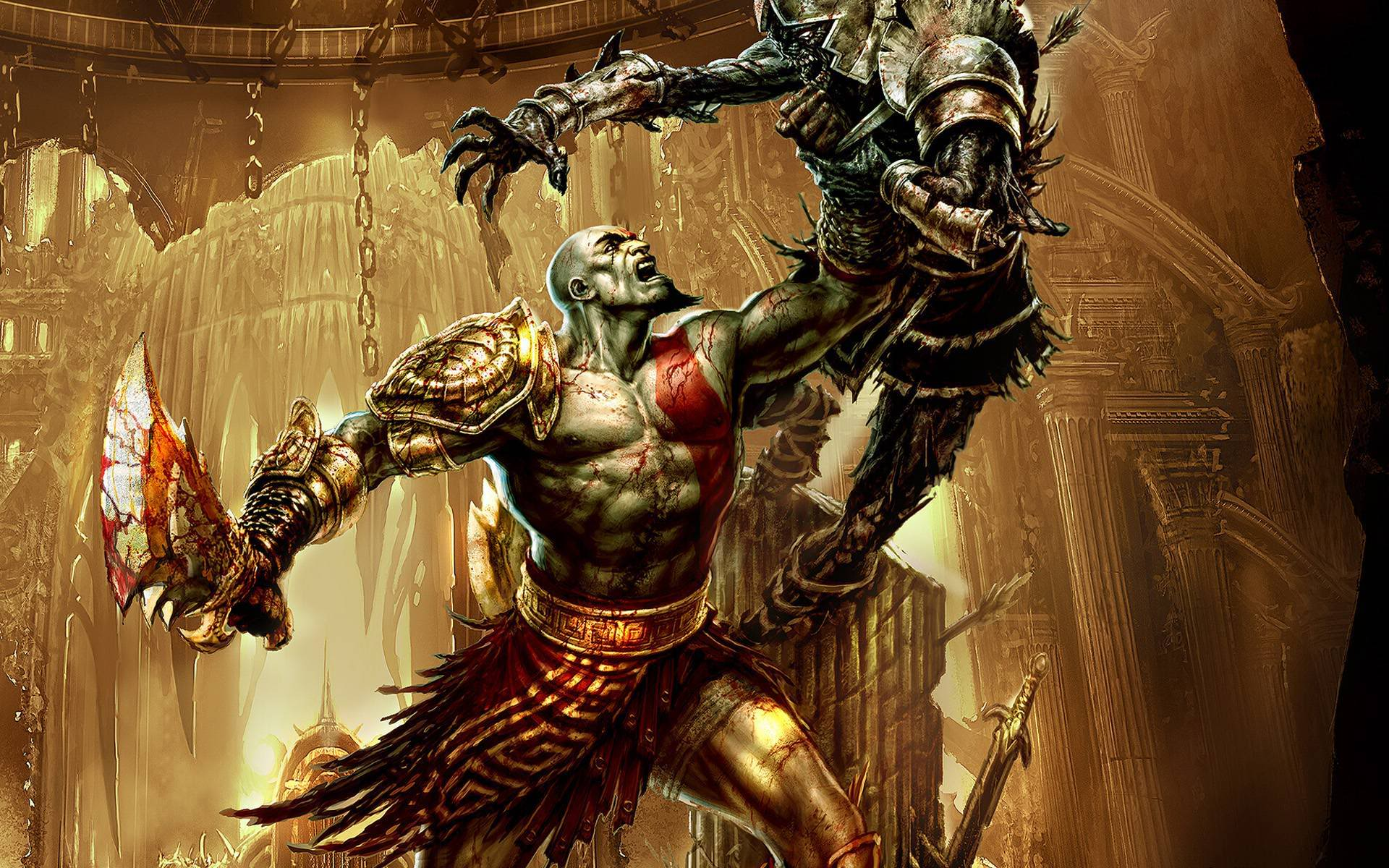 God Of War 2 Wallpapers Top Free God Of War 2 Backgrounds