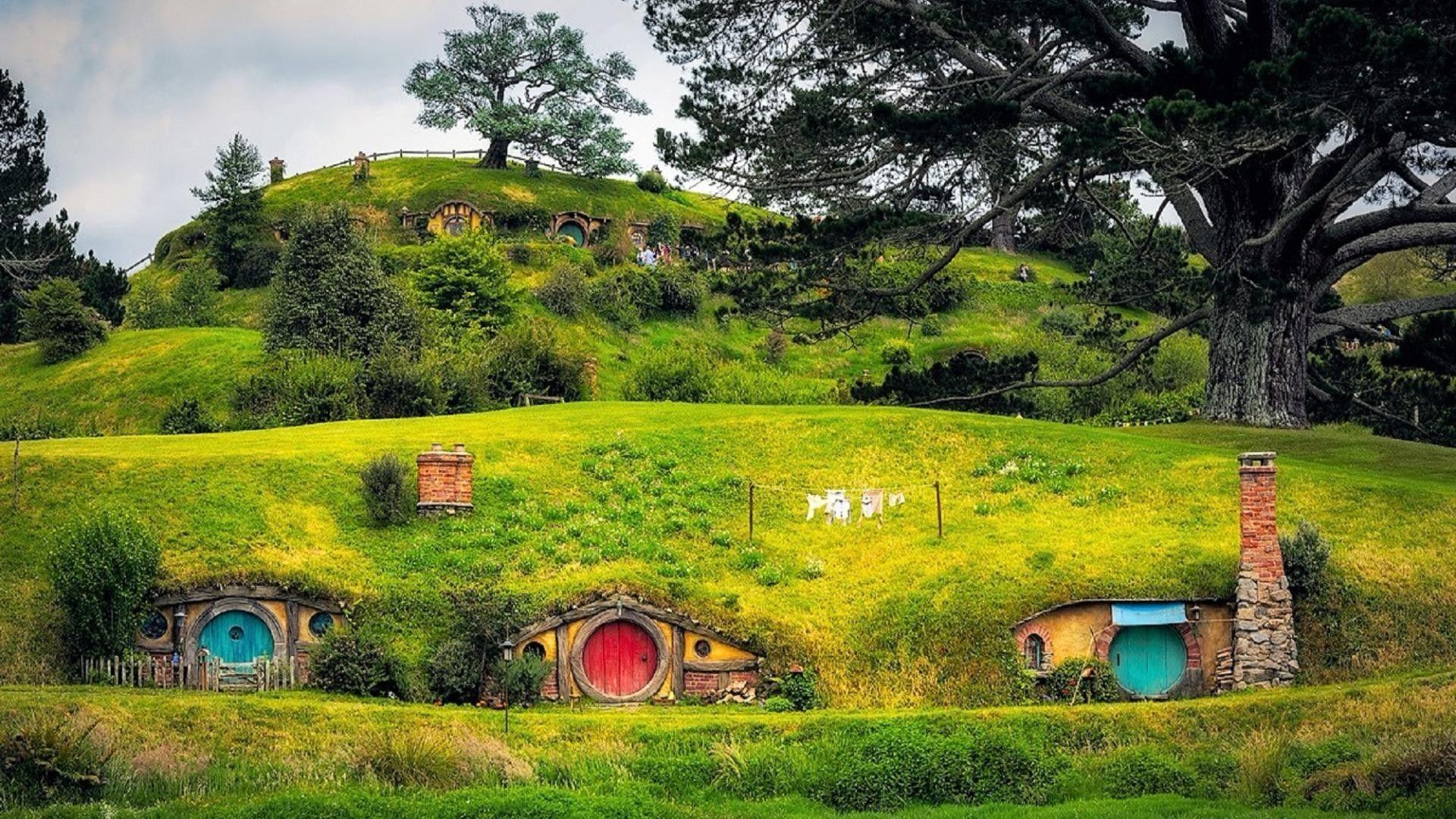 Hobbiton Wallpapers Top Free Hobbiton Backgrounds Wallpaperaccess