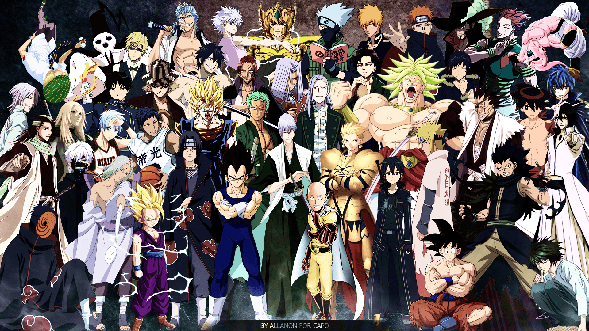 Anime Crossover Wallpapers Top Free Anime Crossover