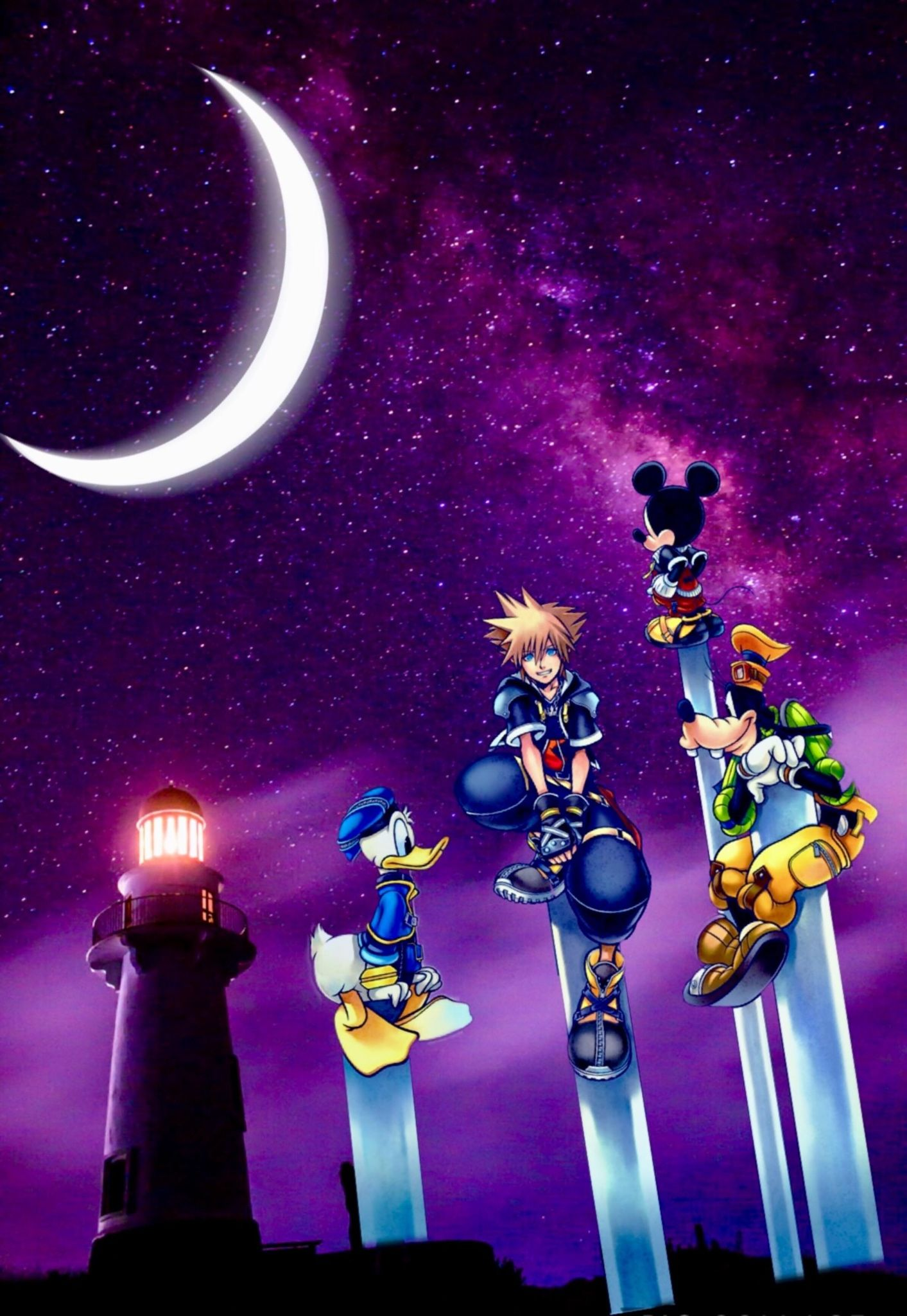 Kingdom Hearts Iphone Wallpapers Top Free Kingdom Hearts Iphone Backgrounds Wallpaperaccess