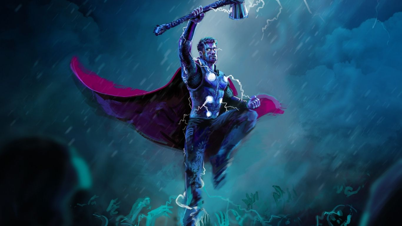 Thor 1366X768 Wallpapers - Top Free ...