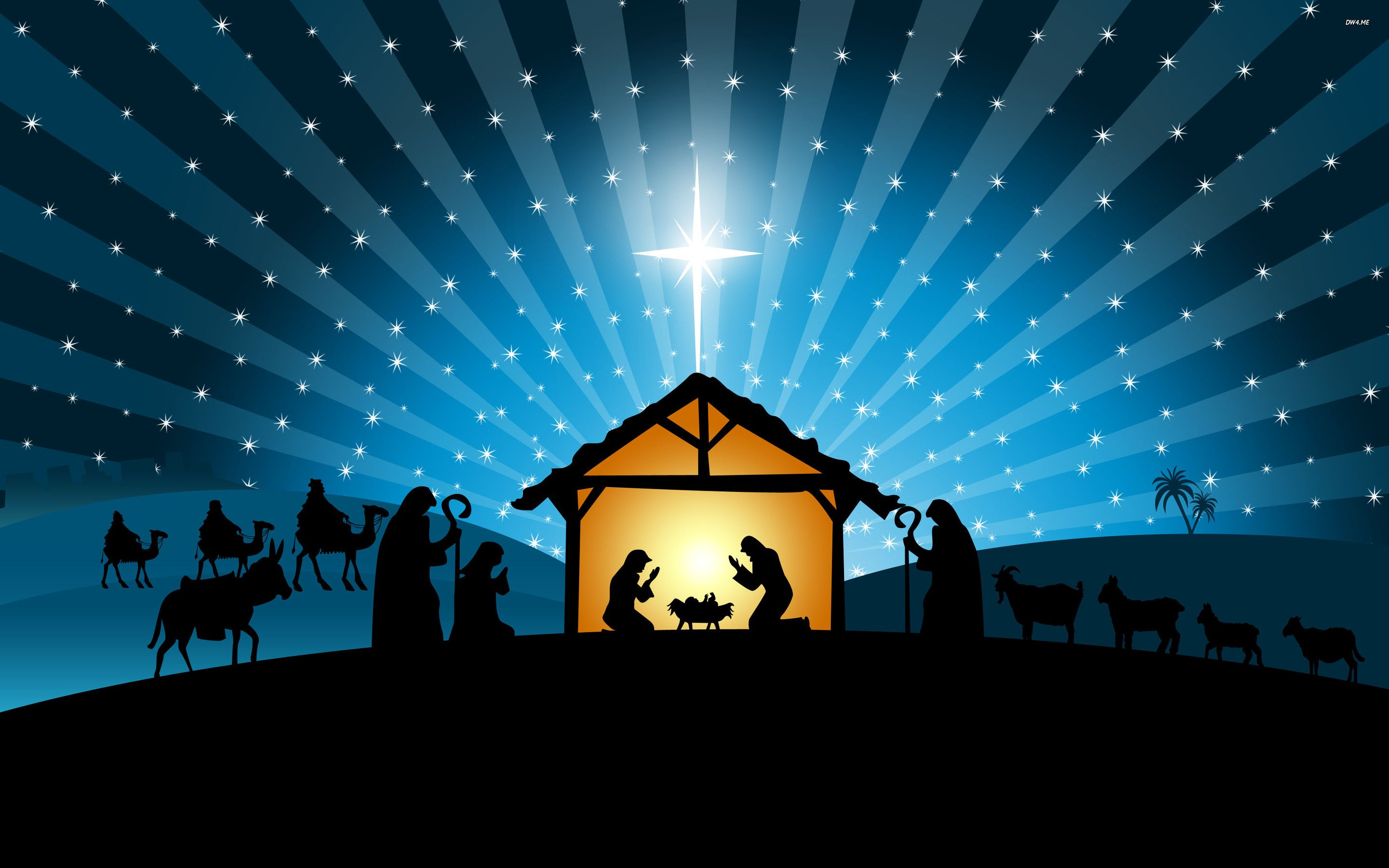 Christmas Manger Wallpapers - Top Free Christmas Manger Backgrounds -  WallpaperAccess